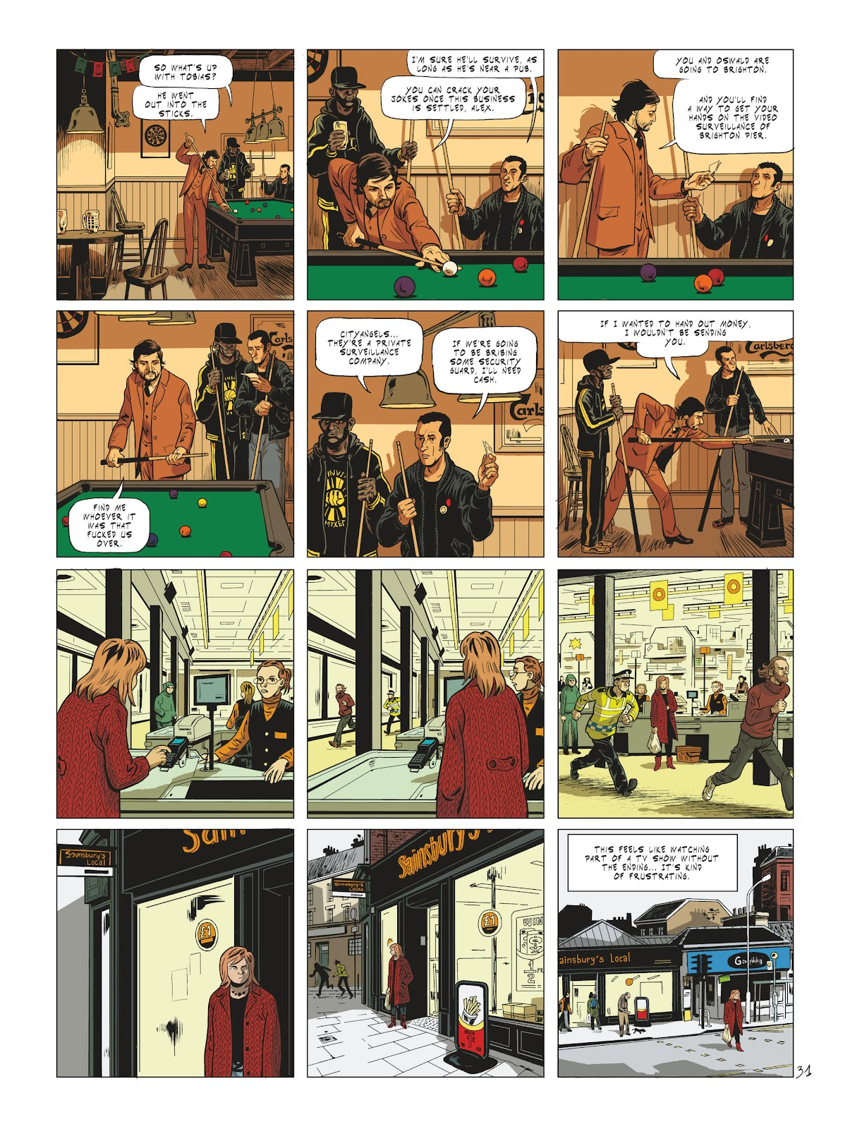 Read online Maggy Garrisson comic -  Issue #2 - 33