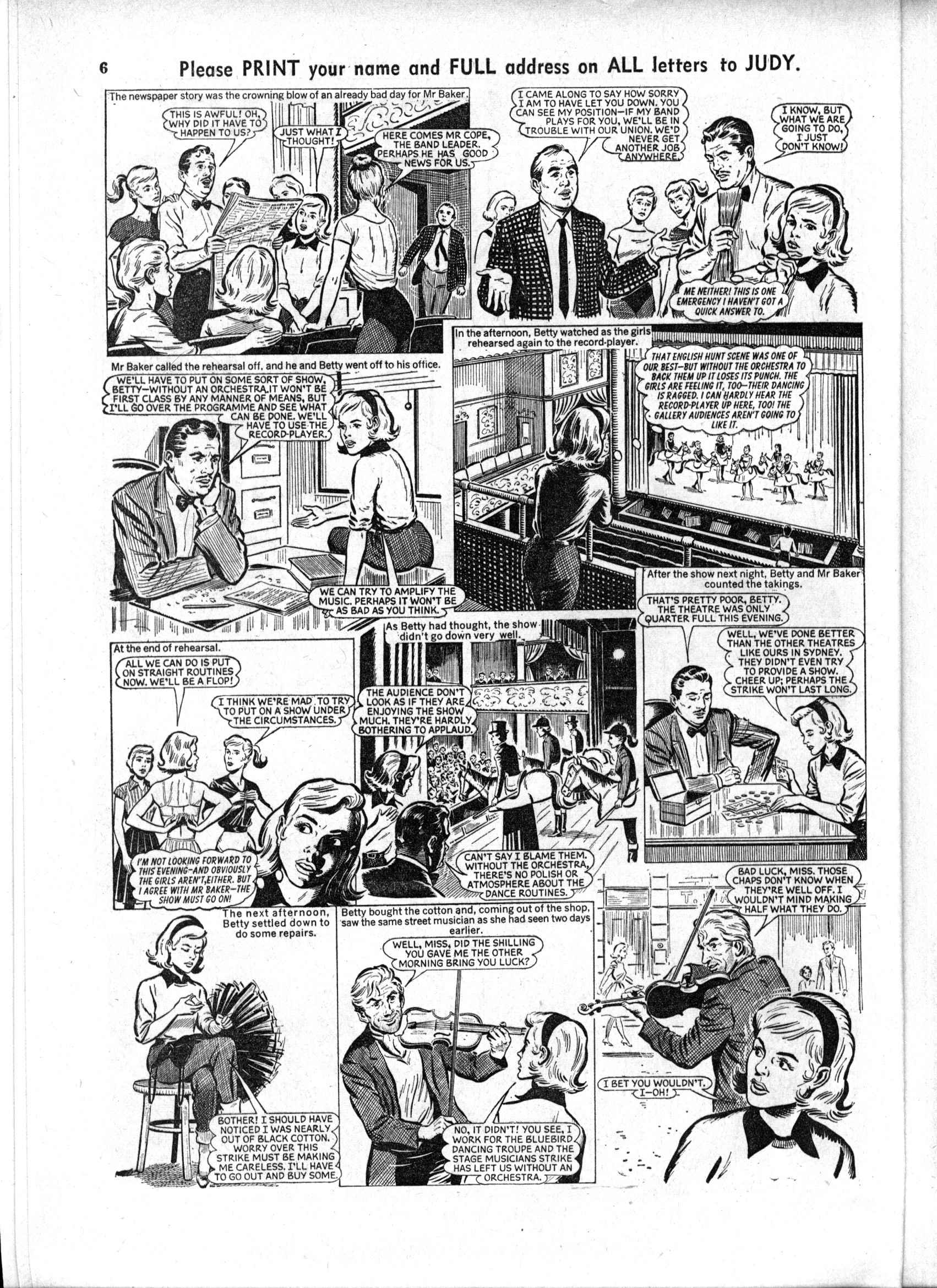 Read online Judy comic -  Issue #190 - 6