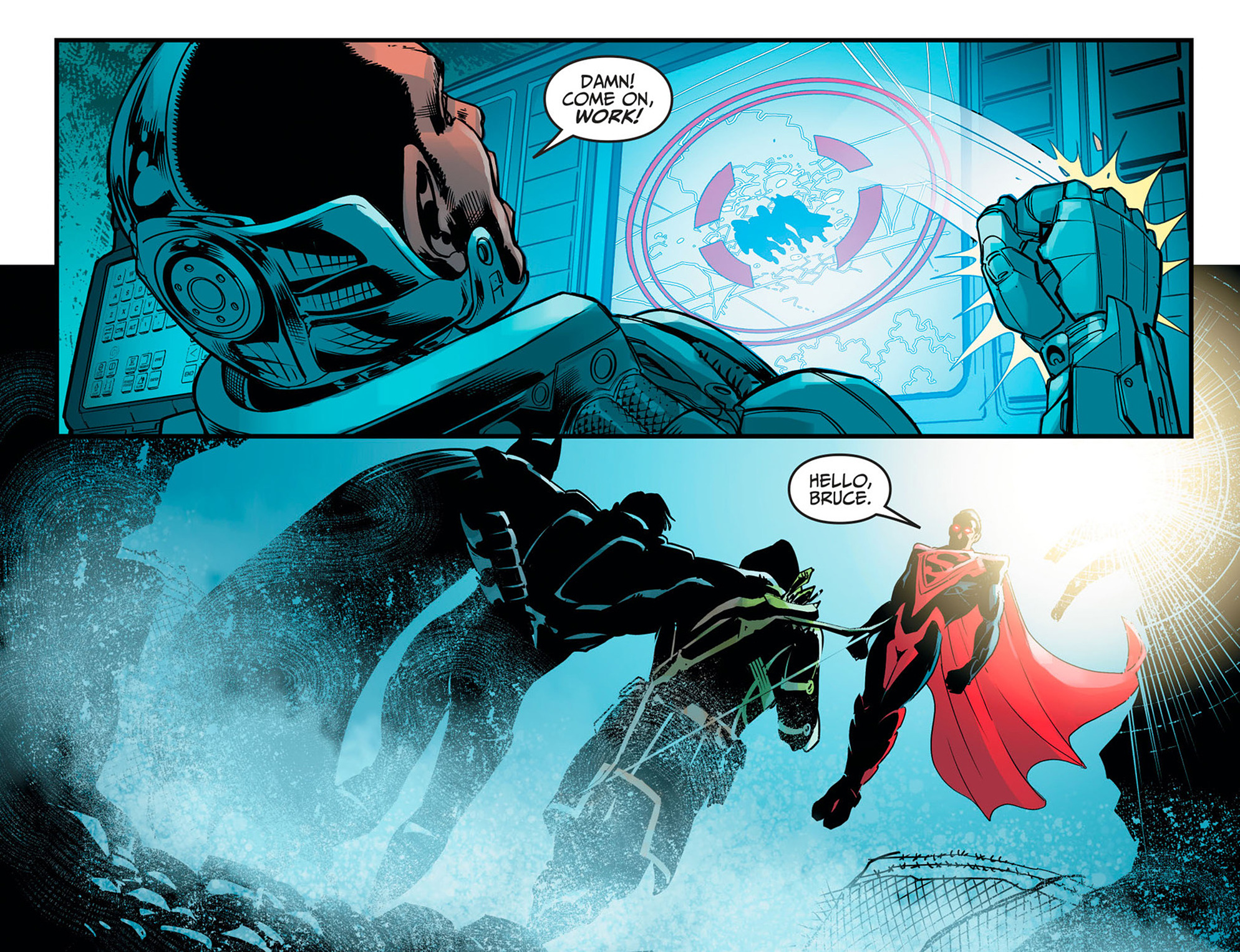 Read online Injustice: Ground Zero comic -  Issue #16 - 21