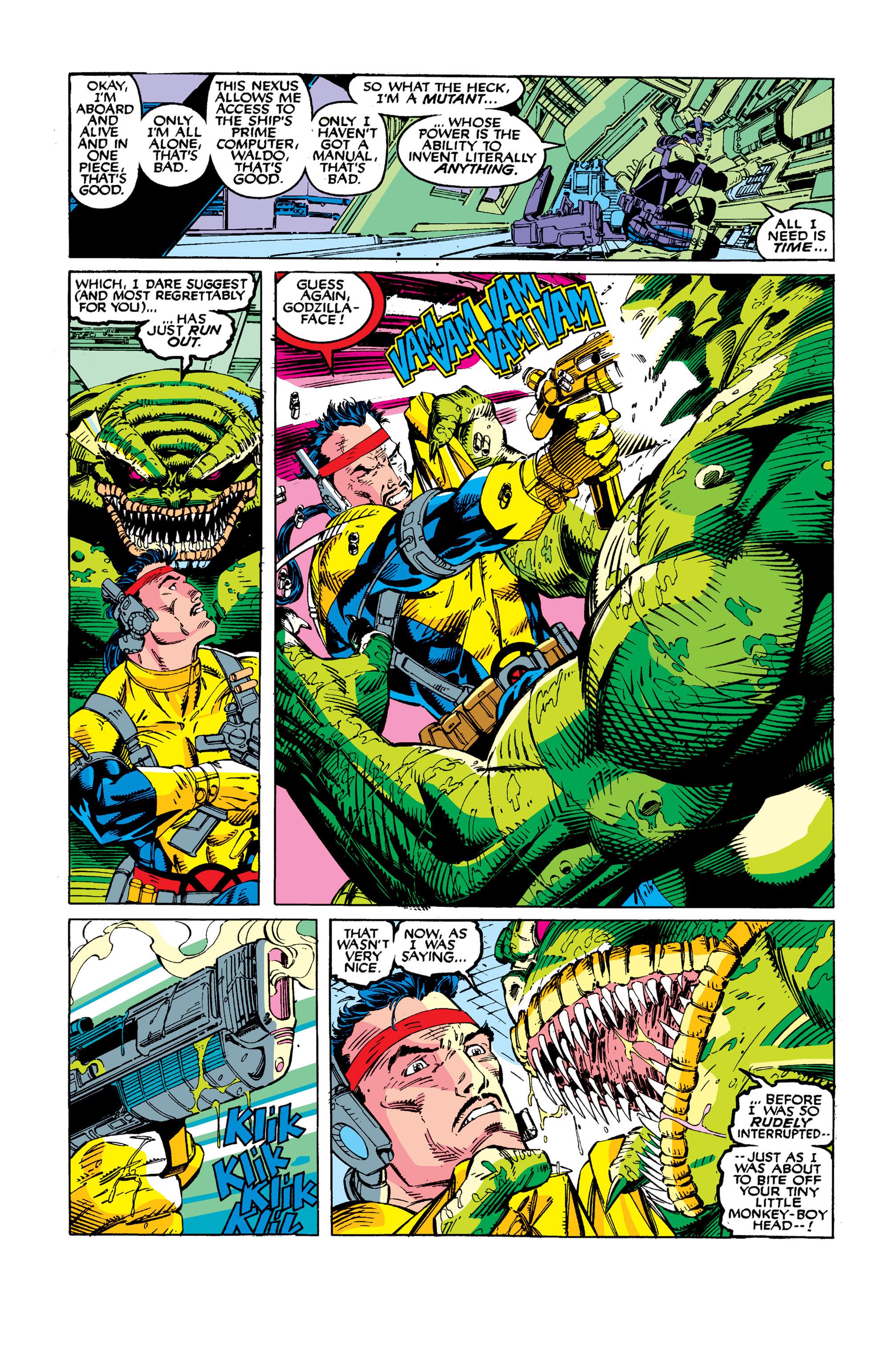 Read online Uncanny X-Men (1963) comic -  Issue #277 - 6