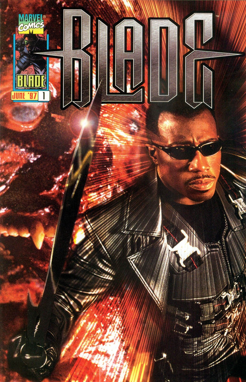 Blade: The Final Glory of Deacon Frost issue Full - Page 1