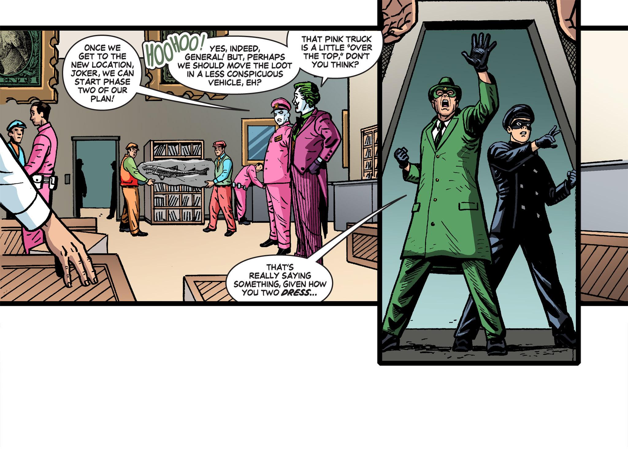 Read online Batman '66 Meets the Green Hornet [II] comic -  Issue #4 - 89