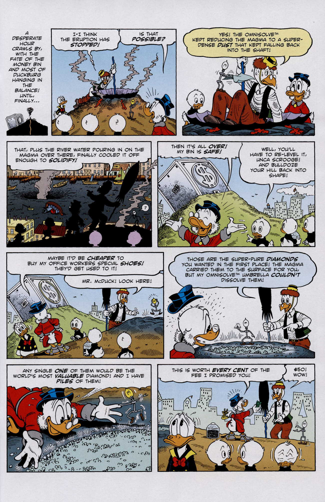 Read online Uncle Scrooge (1953) comic -  Issue #401 - 25