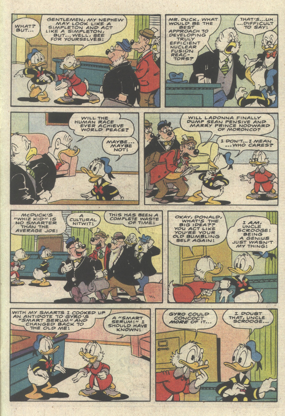 Read online Uncle Scrooge (1953) comic -  Issue #233 - 33