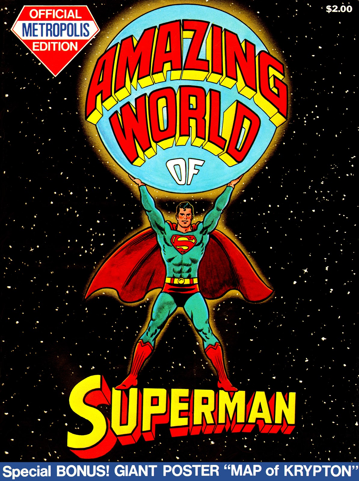 The Amazing World of Superman, Metropolis Edition issue Full - Page 1