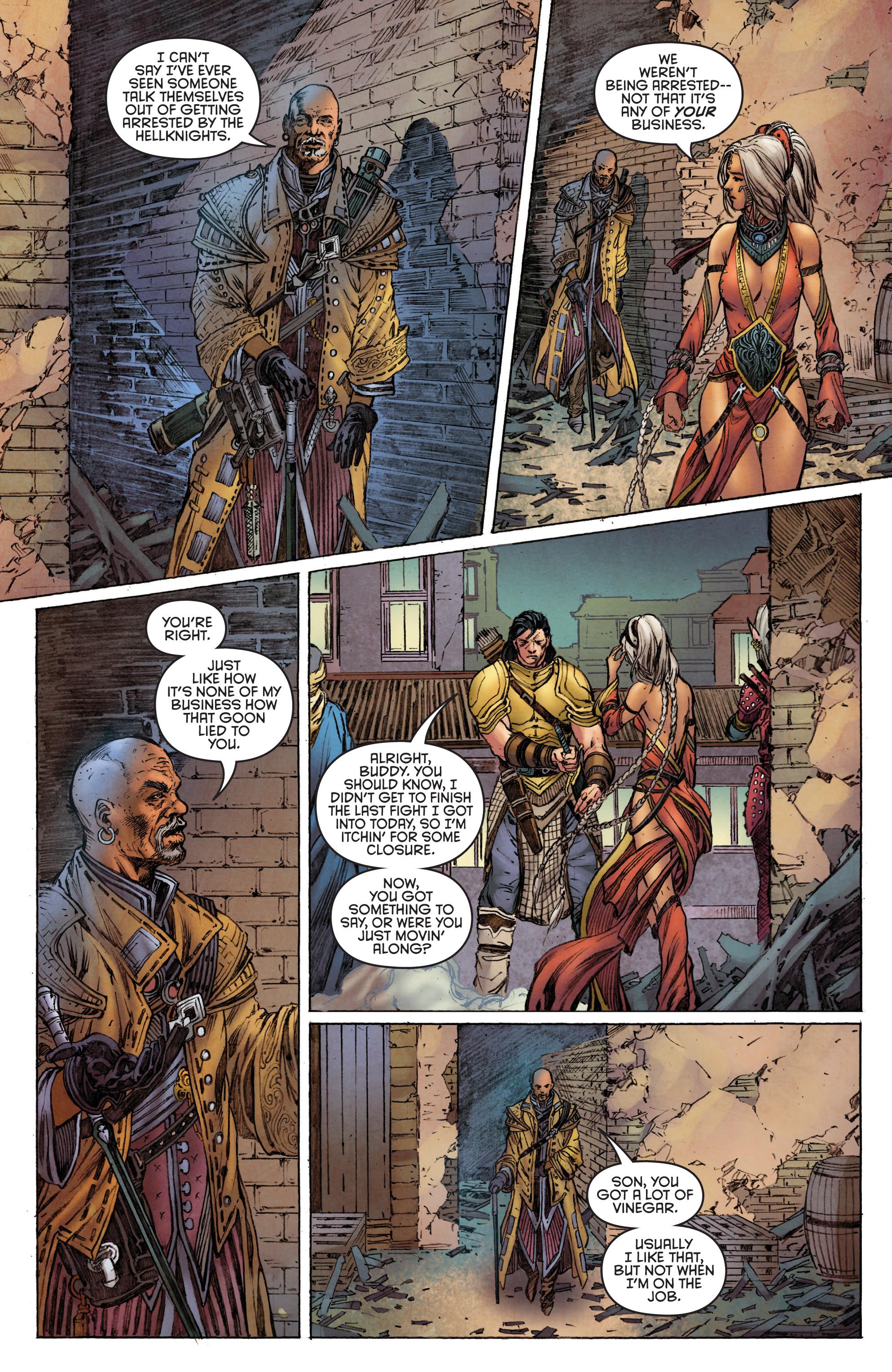 Read online Pathfinder: Runescars comic -  Issue #1 - 12
