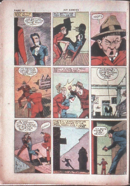 Read online Hit Comics comic -  Issue #8 - 12