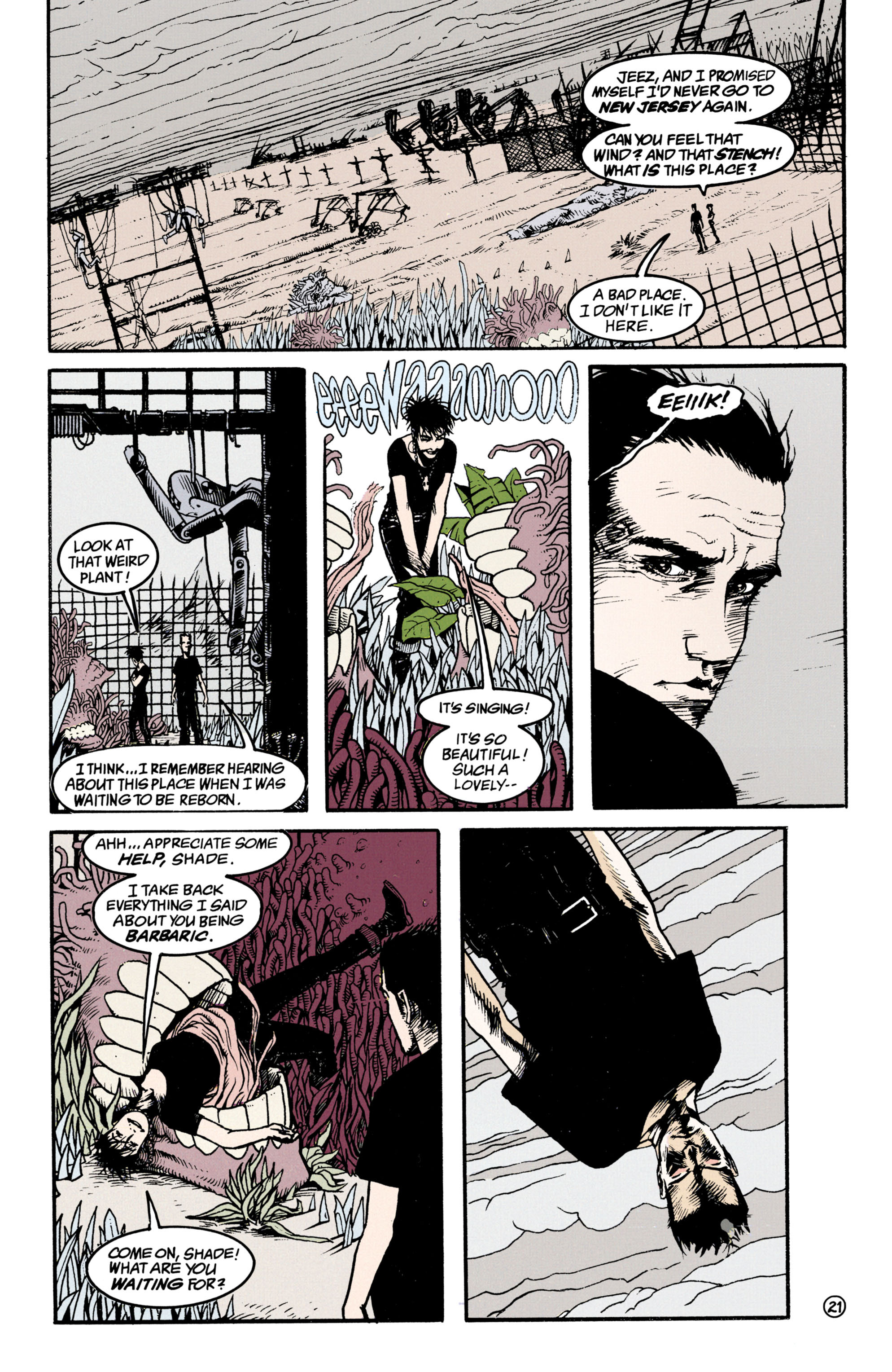 Read online Shade, the Changing Man comic -  Issue #34 - 21