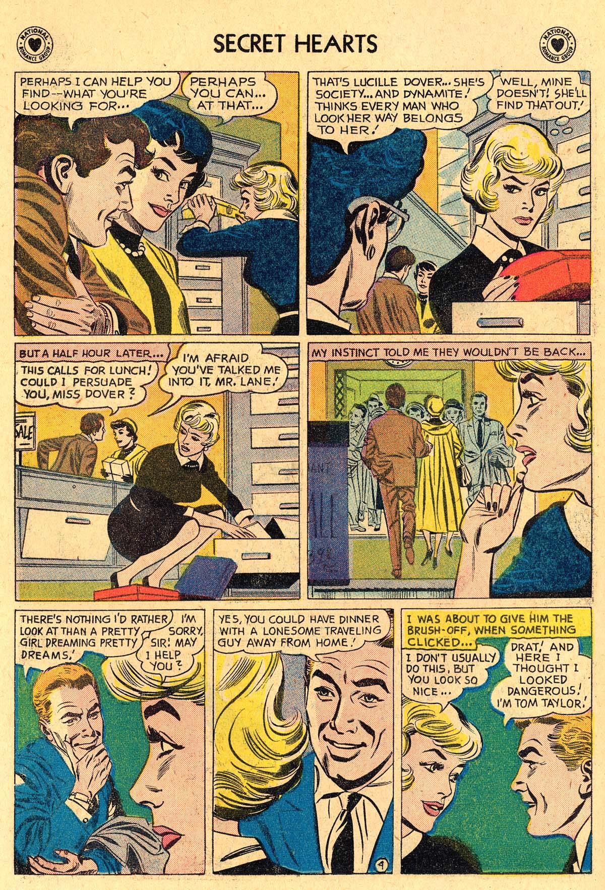 Read online Secret Hearts comic -  Issue #60 - 6
