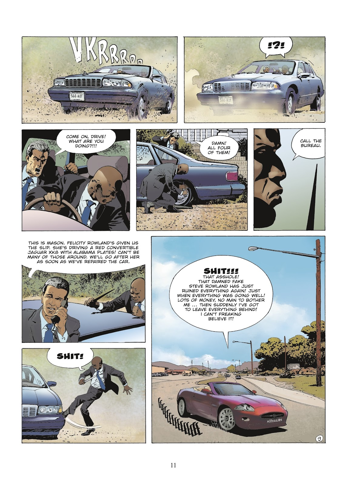 XIII Mystery issue 9 - Page 13
