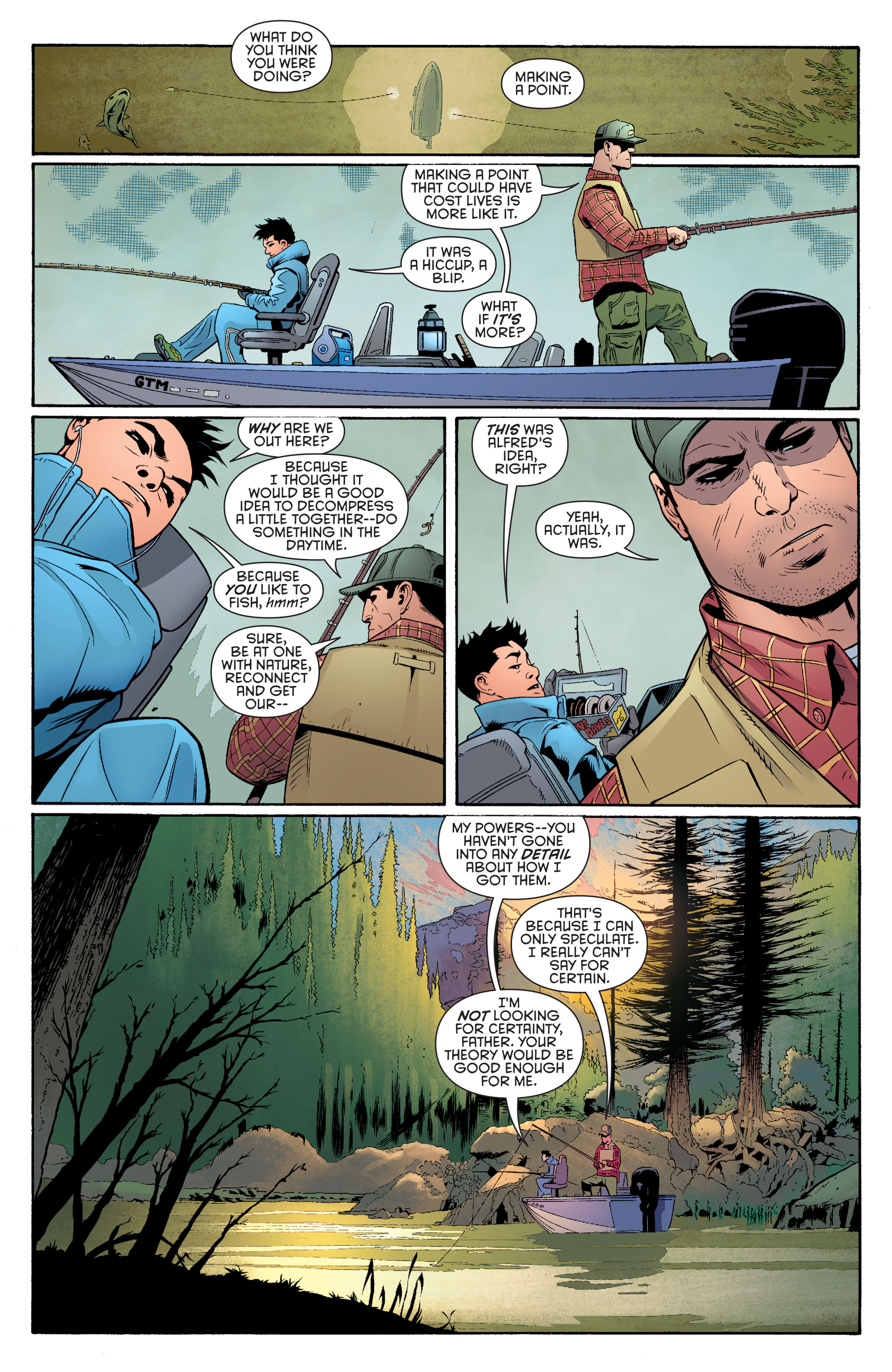 Read online Batman and Robin (2011) comic -  Issue #39 - 8