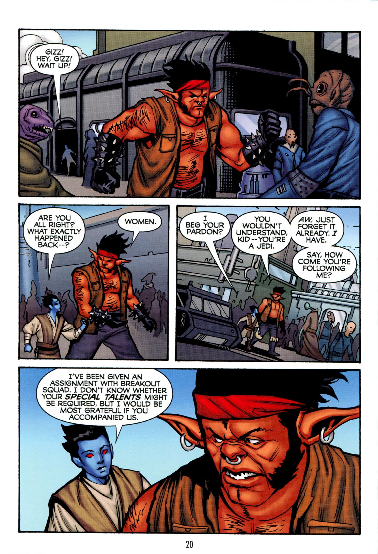Read online Star Wars: The Clone Wars - Strange Allies comic -  Issue # Full - 21