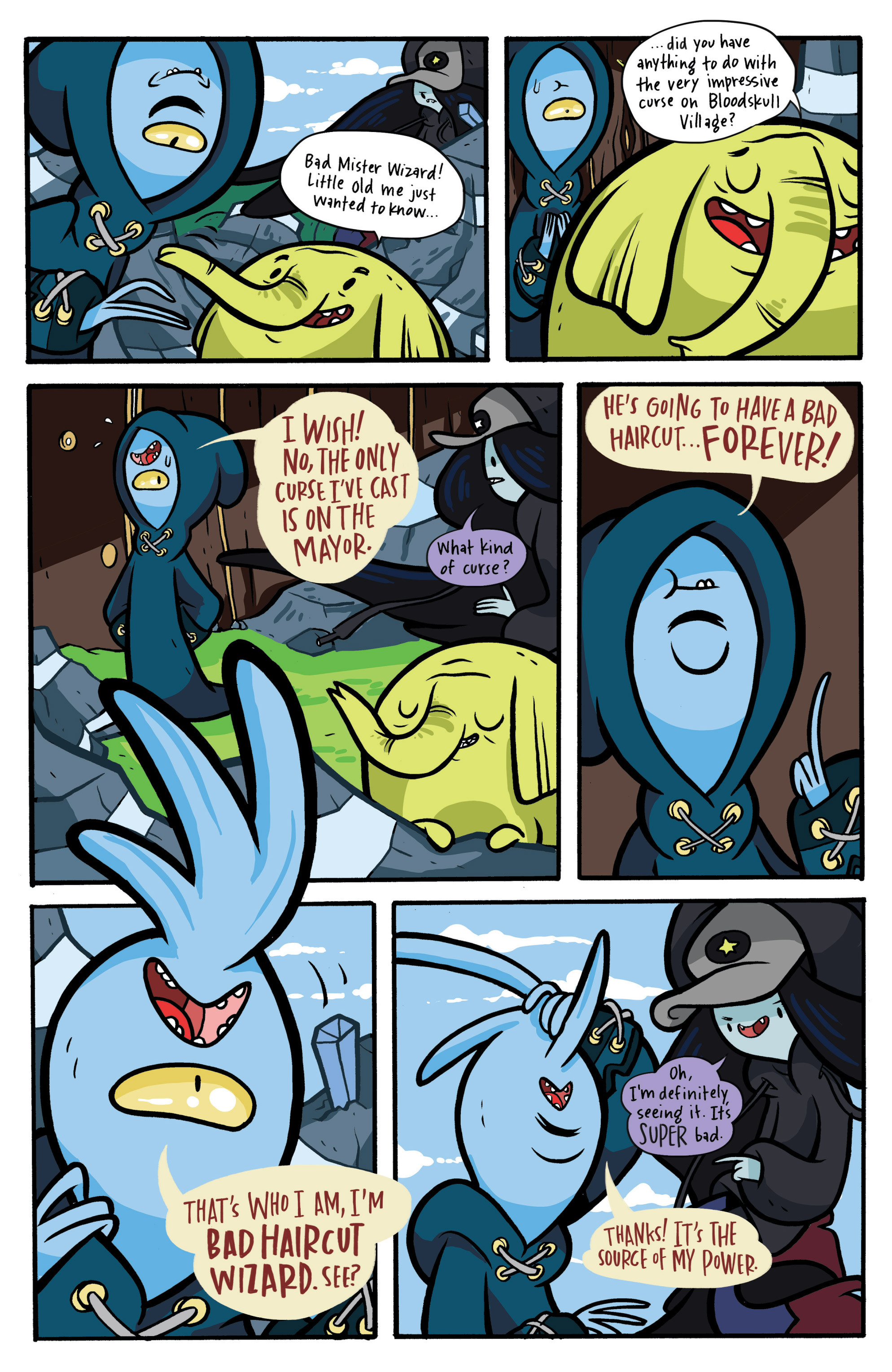Read online Adventure Time: Candy Capers comic -  Issue #2 - 19