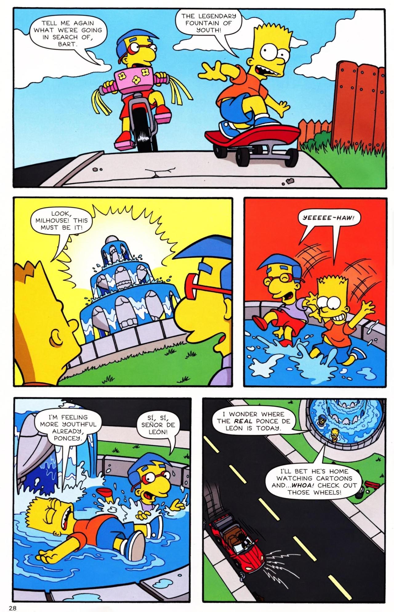 Read online Simpsons Comics Presents Bart Simpson comic -  Issue #42 - 30
