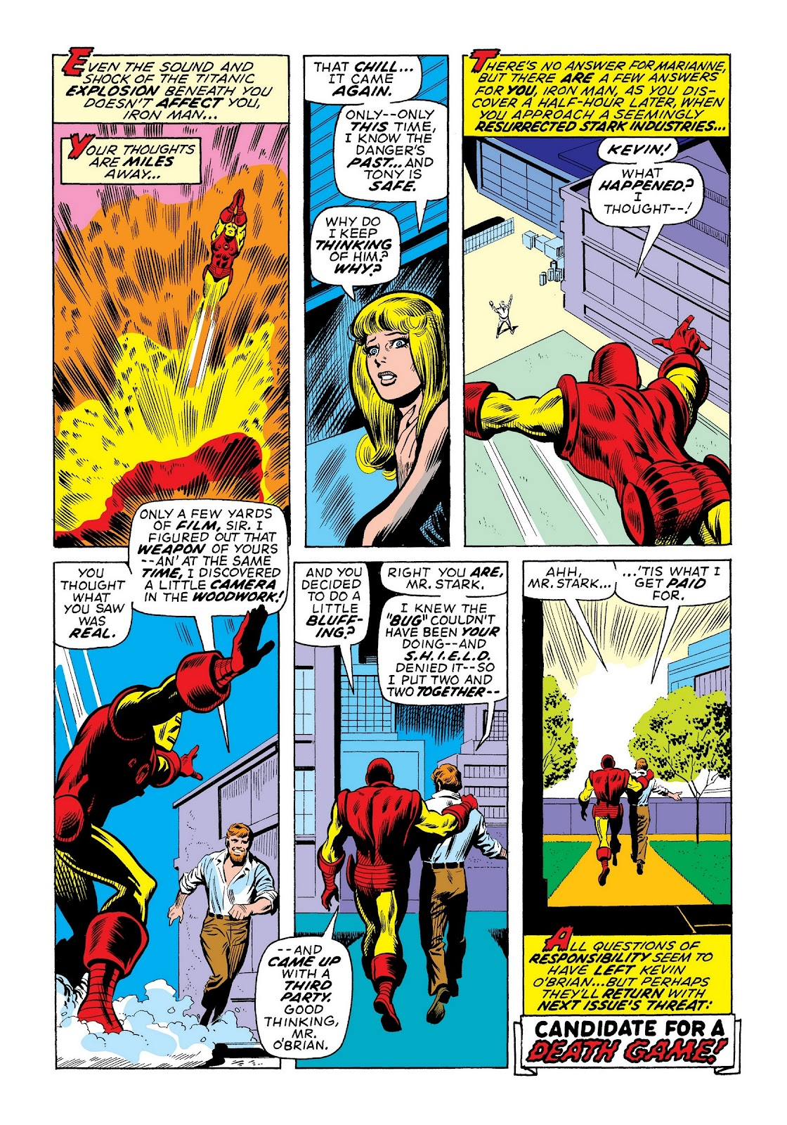Read online Marvel Masterworks: The Invincible Iron Man comic -  Issue # TPB 8 (Part 1) - 46