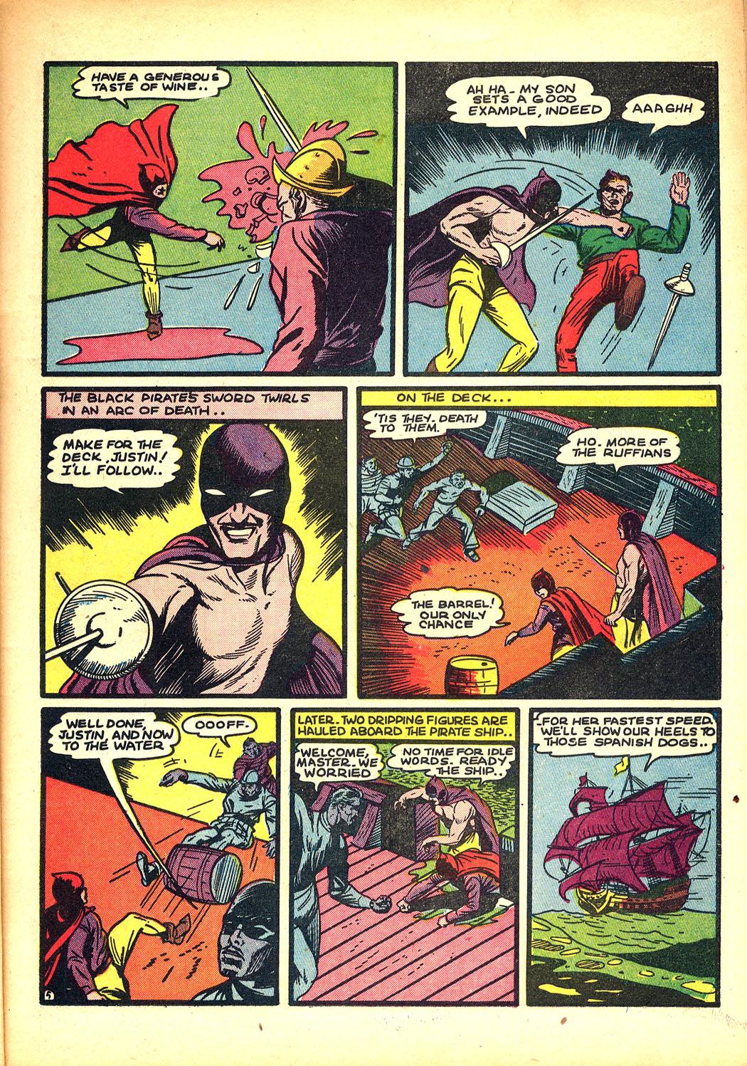 Read online Sensation (Mystery) Comics comic -  Issue #8 - 21
