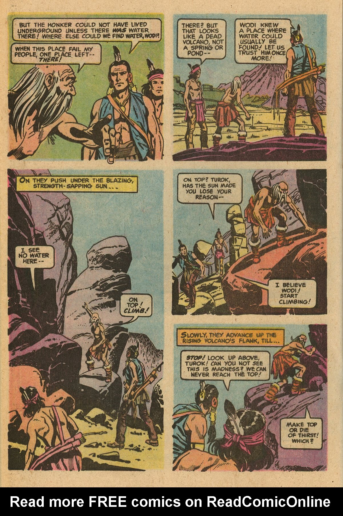 Read online Turok, Son of Stone comic -  Issue #115 - 28