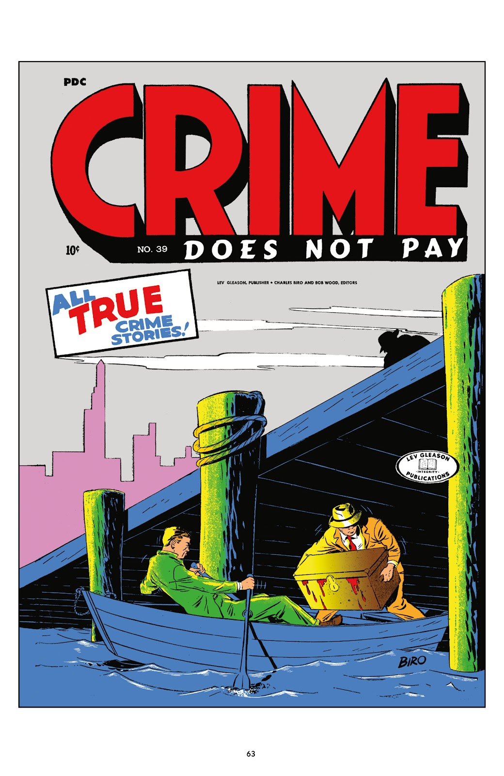 Read online Crime Does Not Pay Archives comic -  Issue # TPB 5 (Part 1) - 63