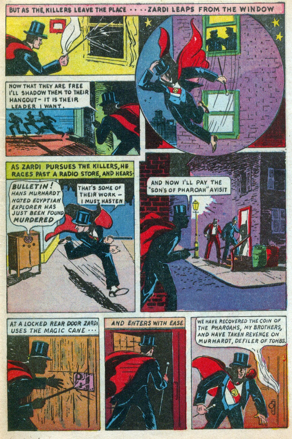 Read online Amazing Man Comics comic -  Issue #15 - 62