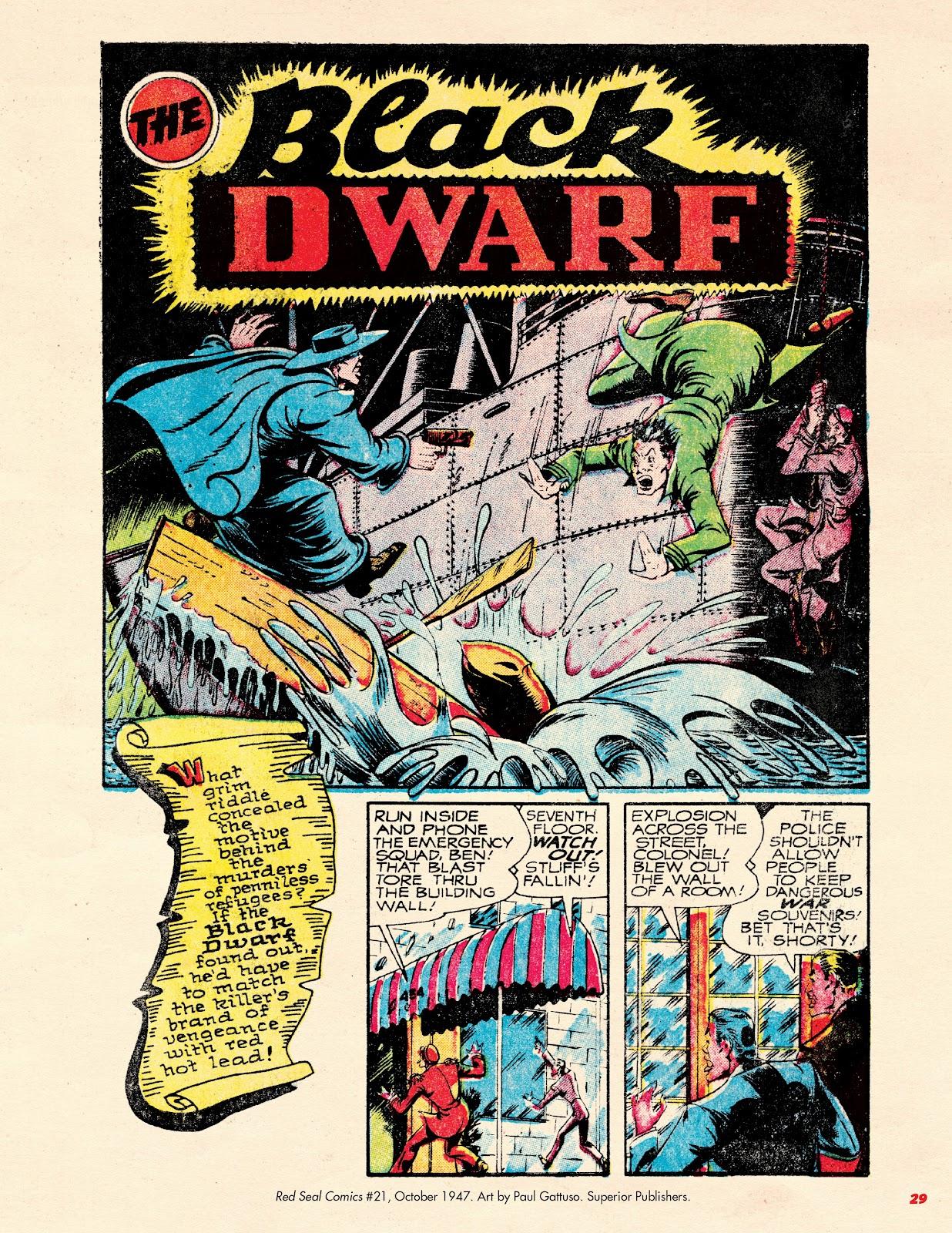 Read online Super Weird Heroes comic -  Issue # TPB 2 (Part 1) - 29