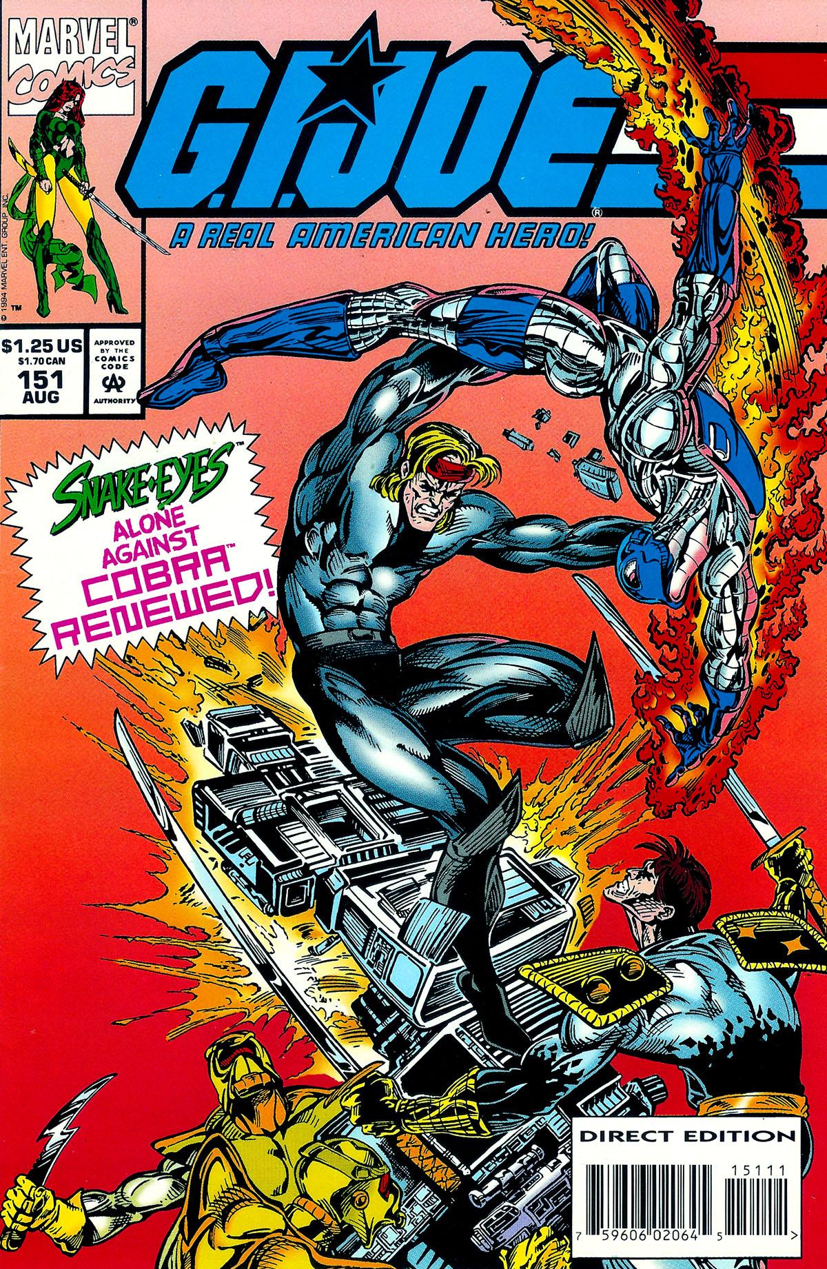 G.I. Joe: A Real American Hero 151 Page 1
