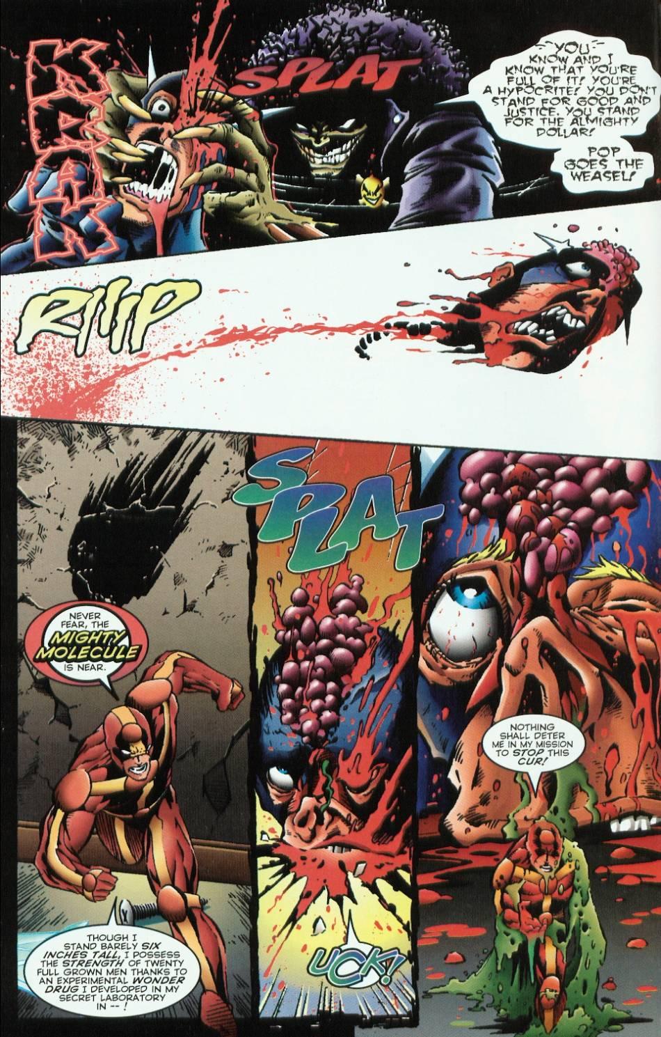 Read online Evil Ernie vs. the Superheroes comic -  Issue #1 - 4