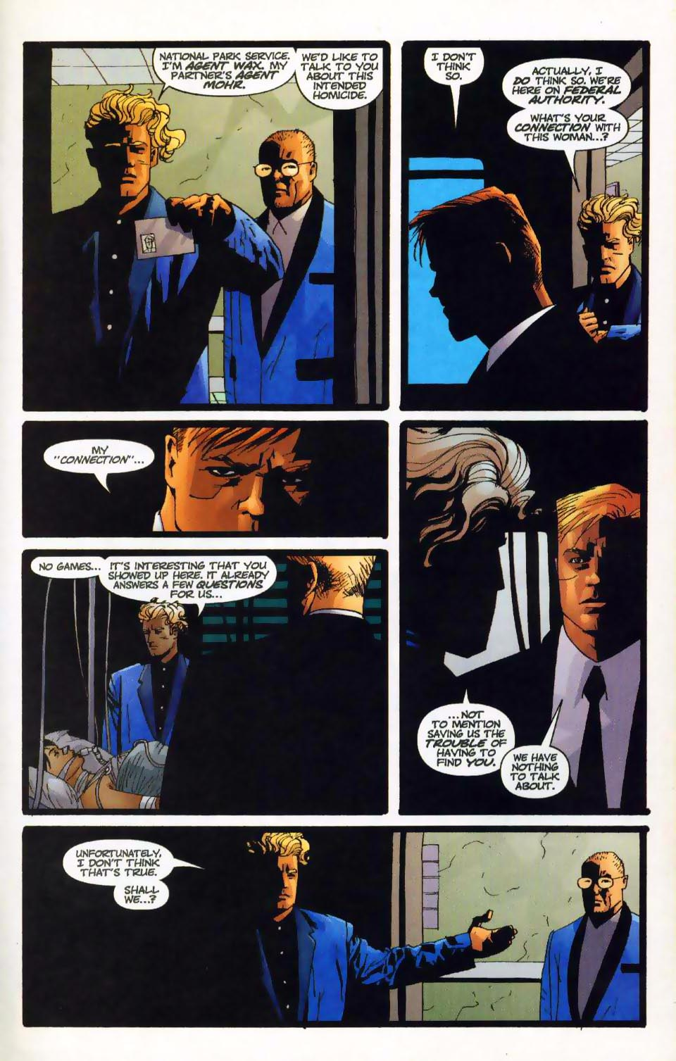 Wildcats (1999) Issue #17 #18 - English 10