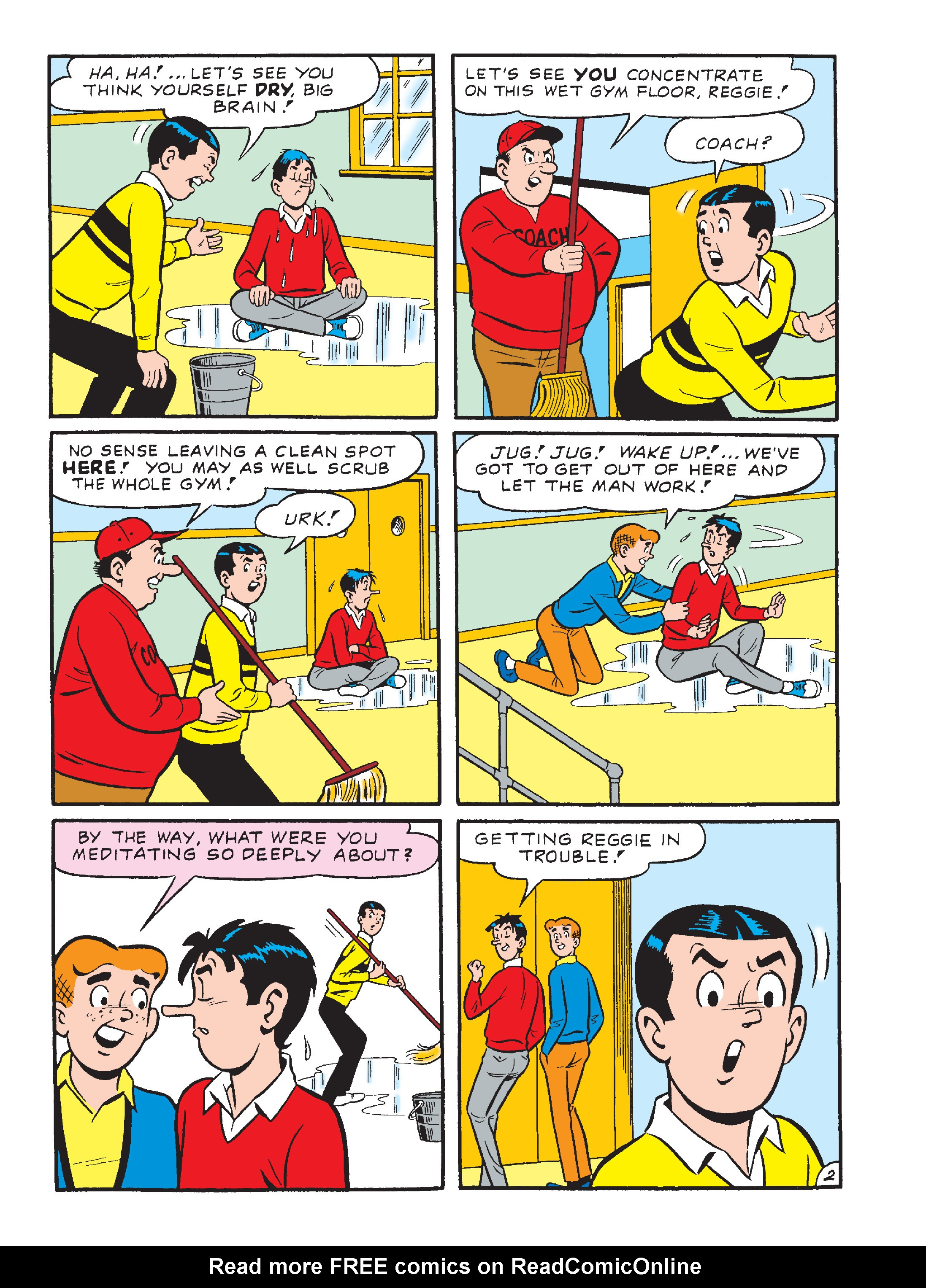 Read online Archie's Funhouse Double Digest comic -  Issue #23 - 126