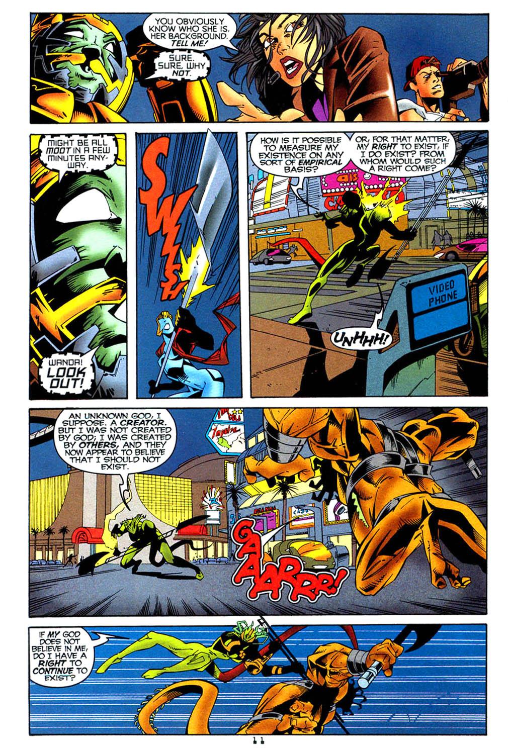 Read online Tangent Comics/ Wonder Woman comic -  Issue # Full - 12