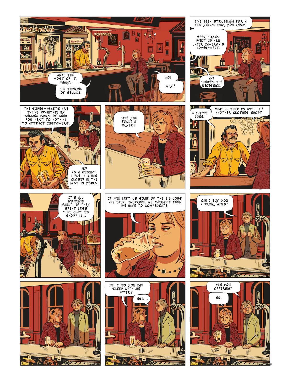 Read online Maggy Garrisson comic -  Issue #3 - 9