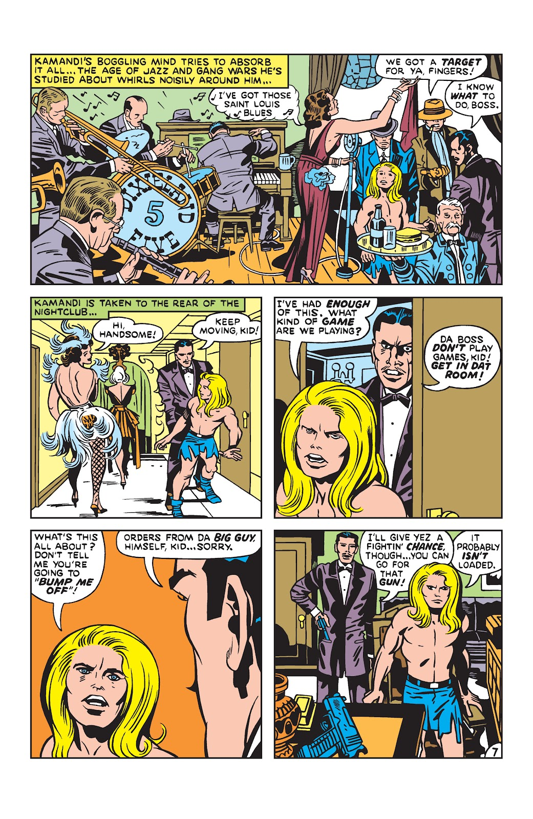 Kamandi, The Last Boy On Earth issue 19 - Page 7