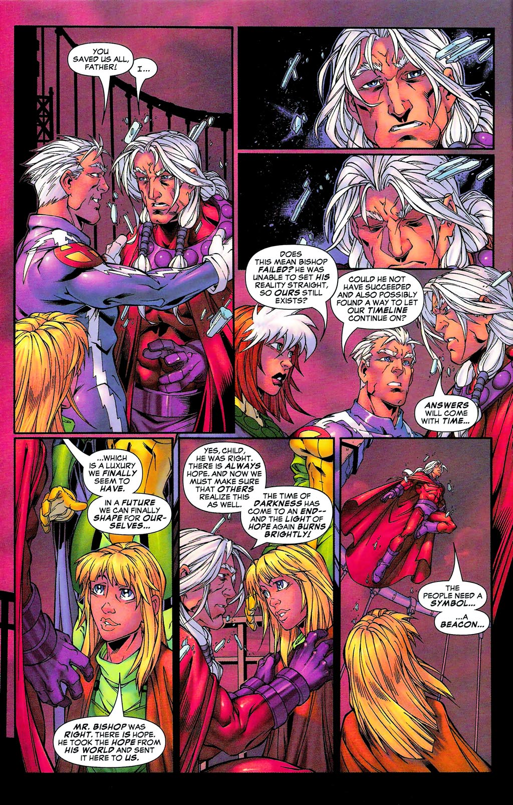 Read online Age of Apocalypse (2005) comic -  Issue #0 - 30