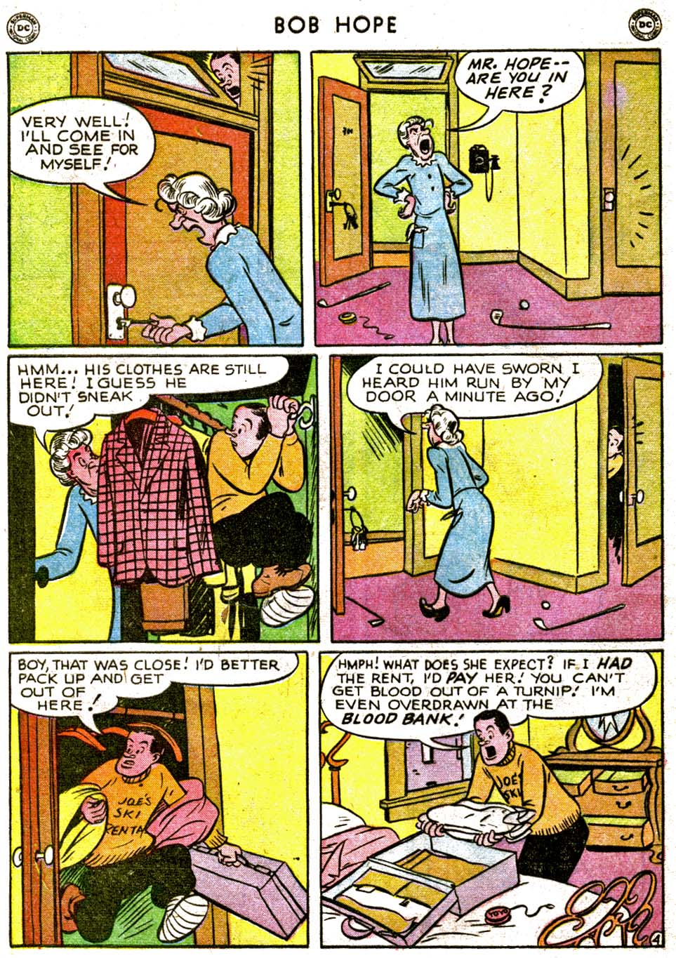 The Adventures of Bob Hope issue 1 - Page 40