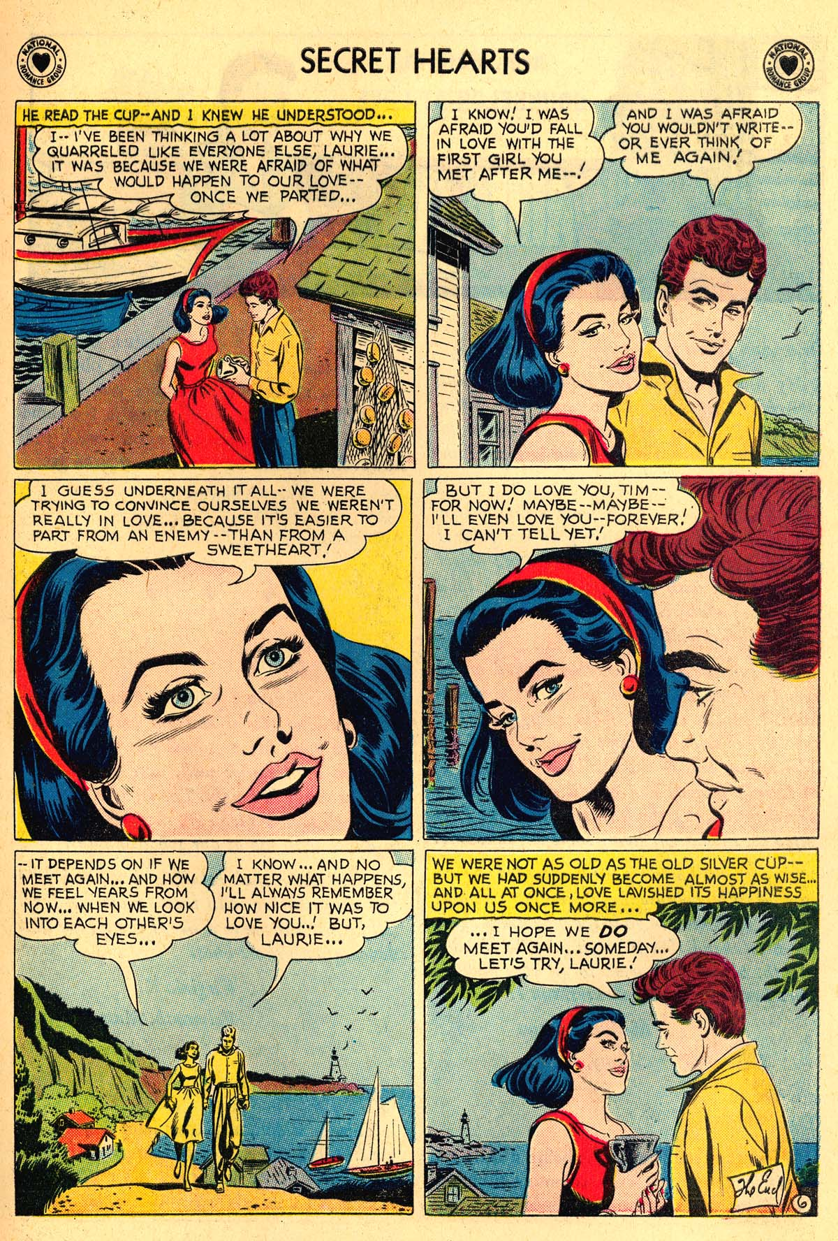Read online Secret Hearts comic -  Issue #55 - 17