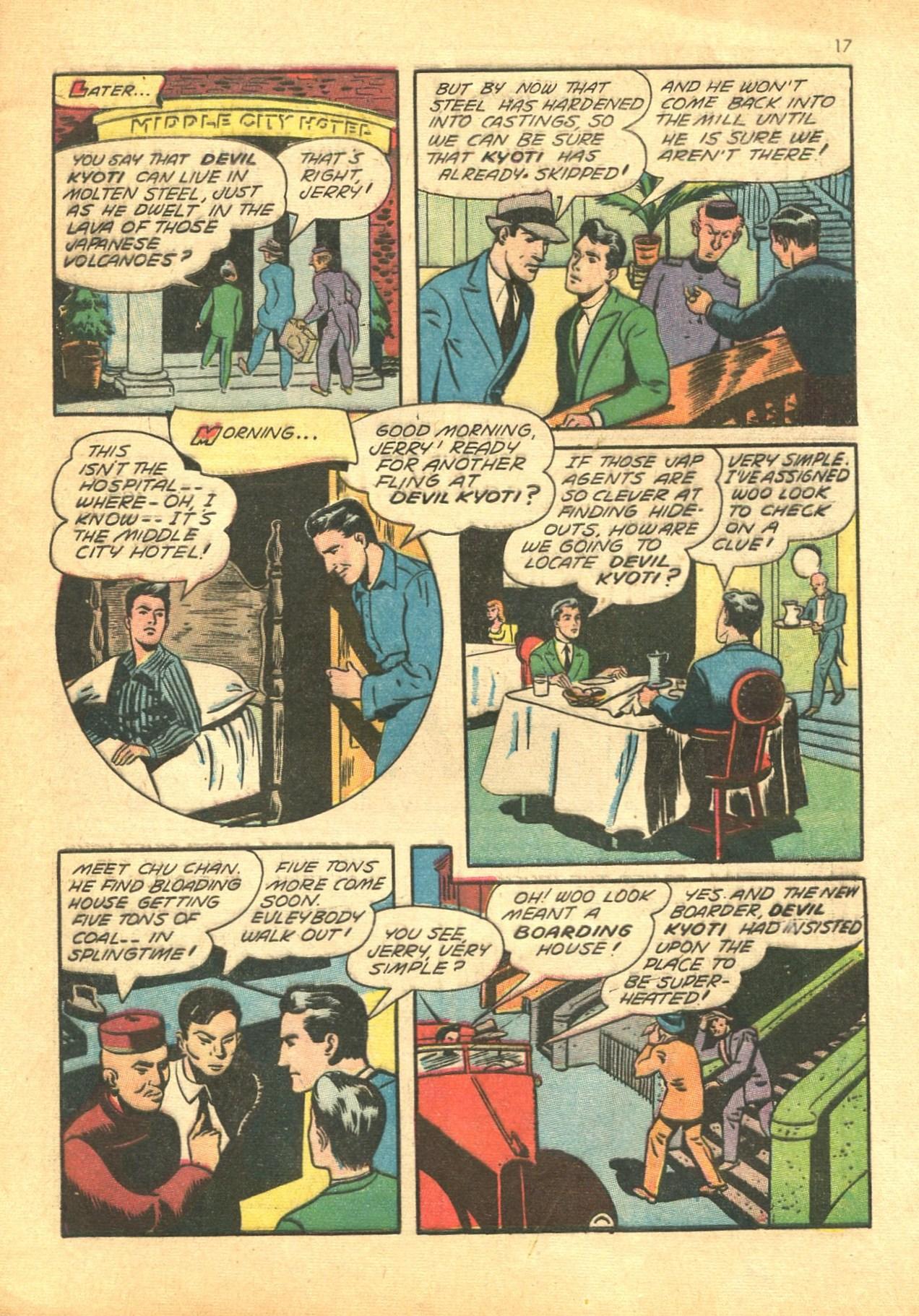 Read online Shadow Comics comic -  Issue #24 - 17