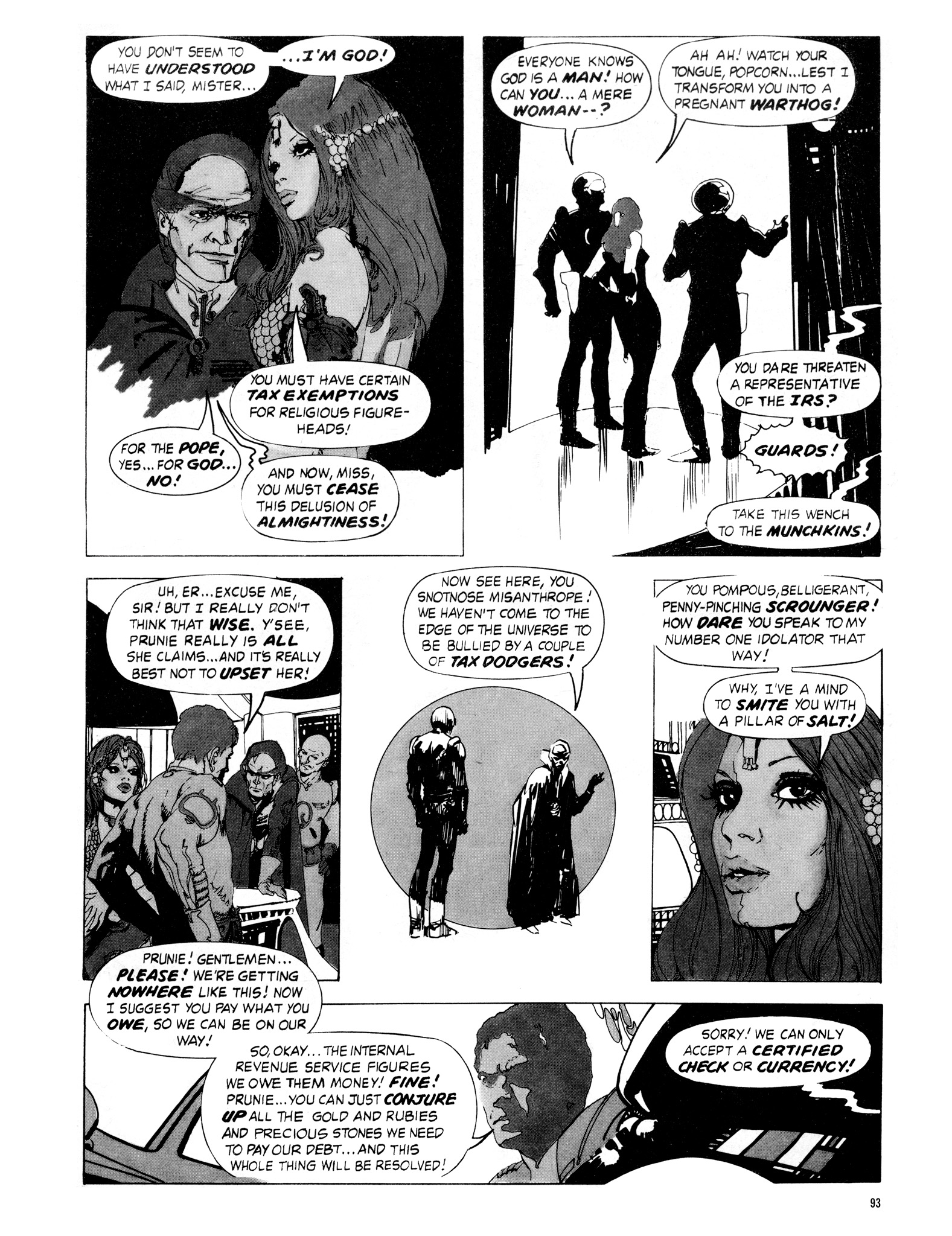 Read online Eerie Archives comic -  Issue # TPB 16 - 94
