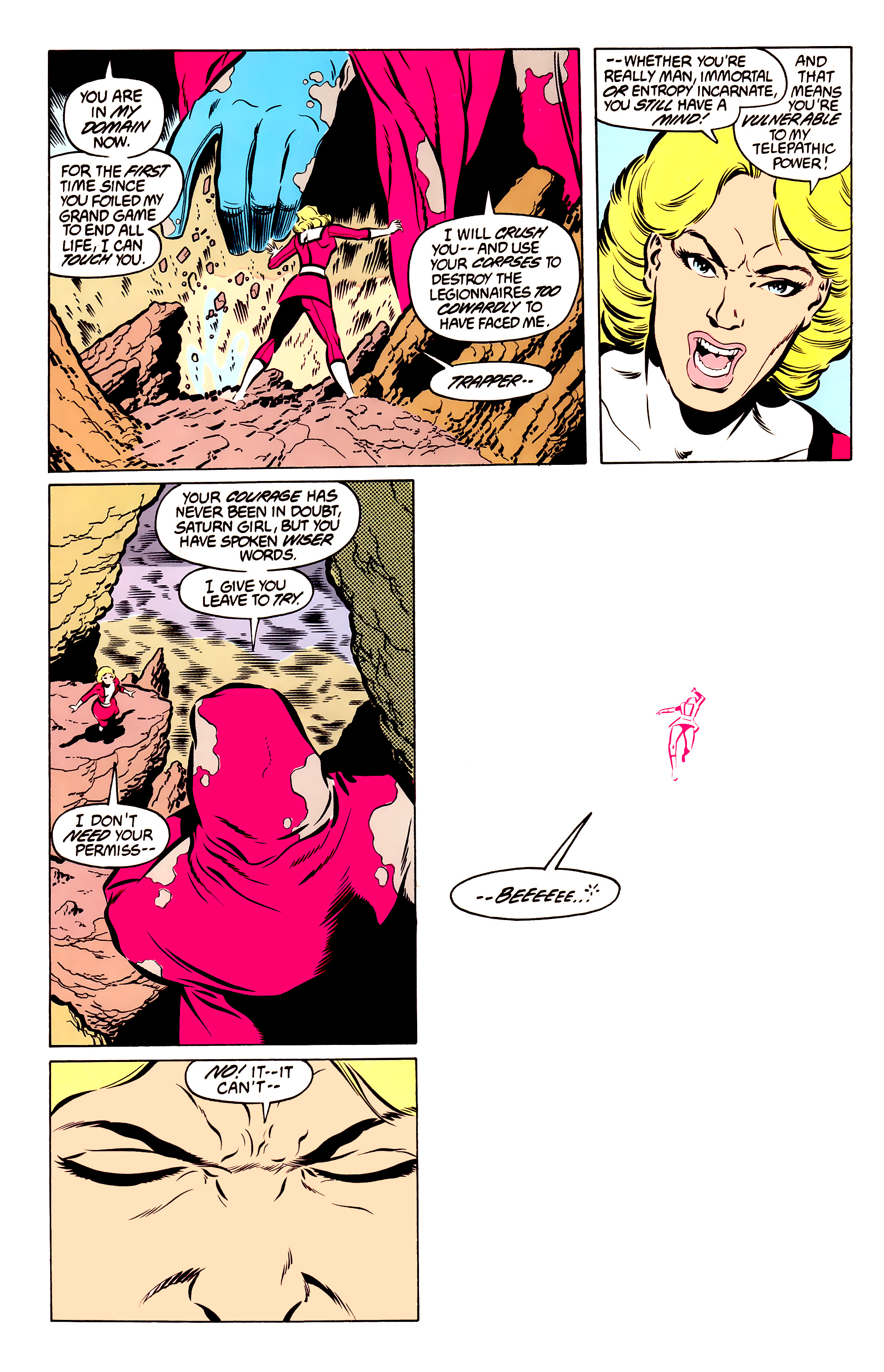 Legion of Super-Heroes (1984) 50 Page 18