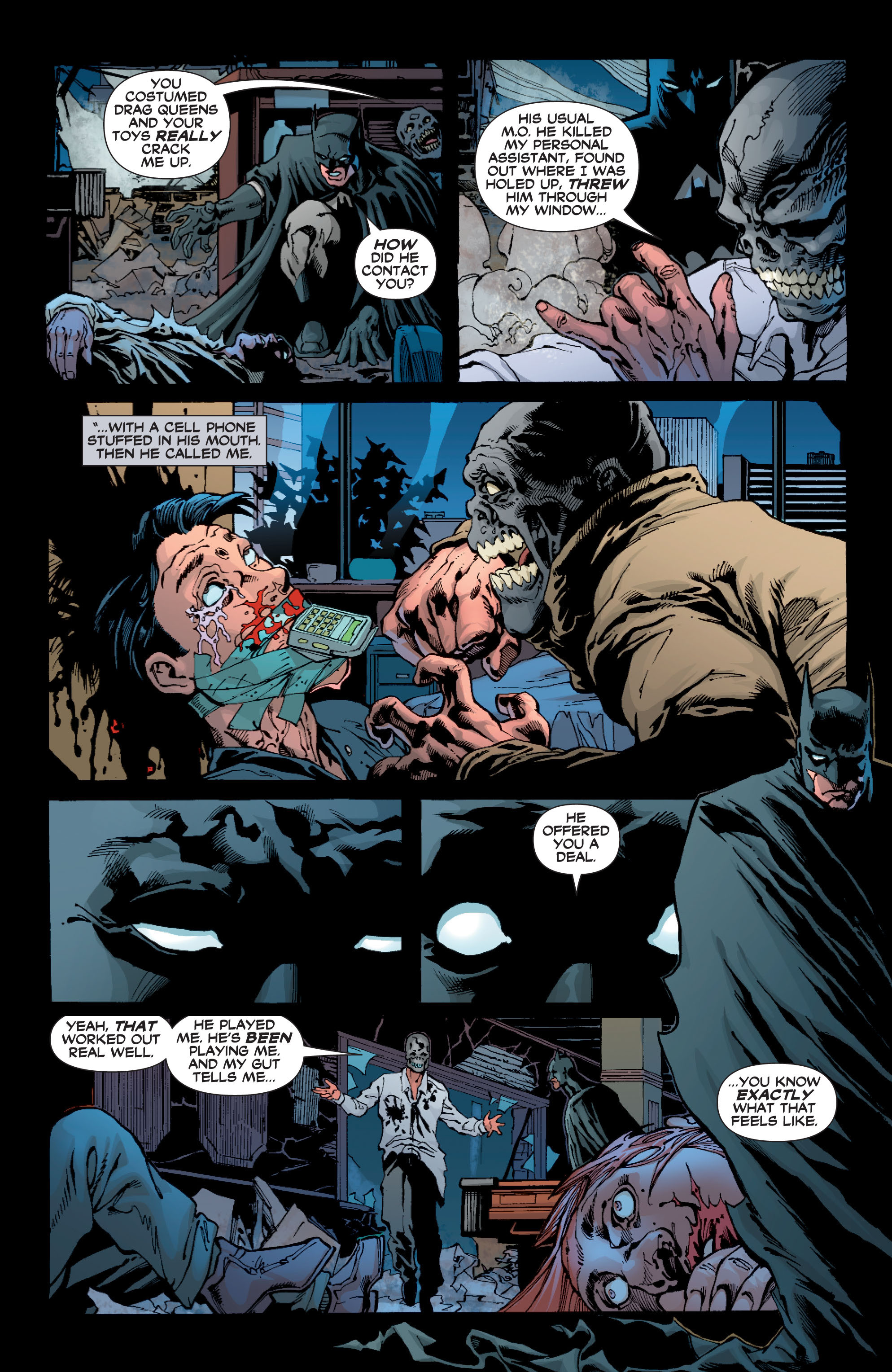 Read online Batman: Under The Red Hood comic -  Issue # Full - 278