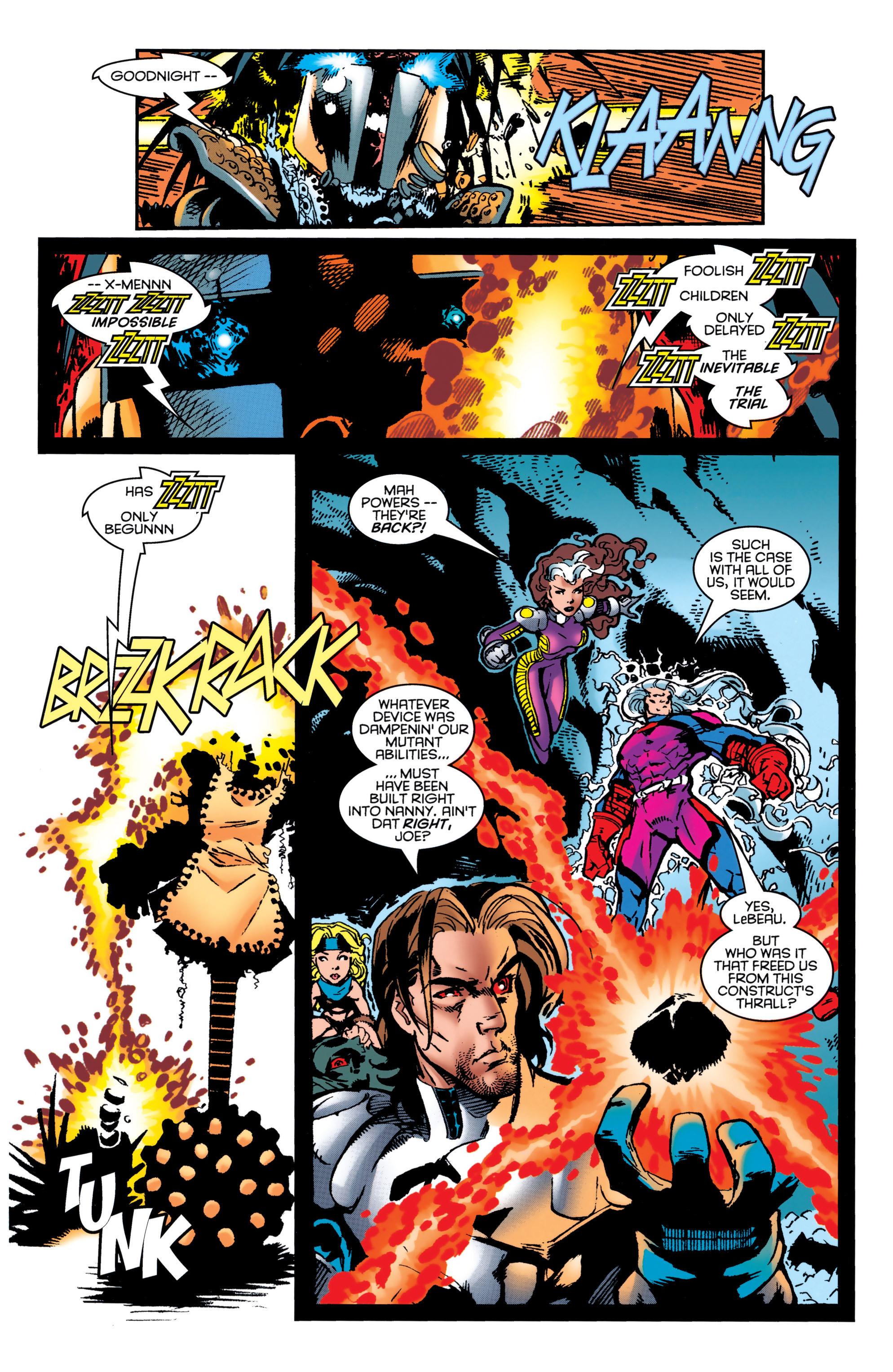 Read online Uncanny X-Men (1963) comic -  Issue #349 - 21
