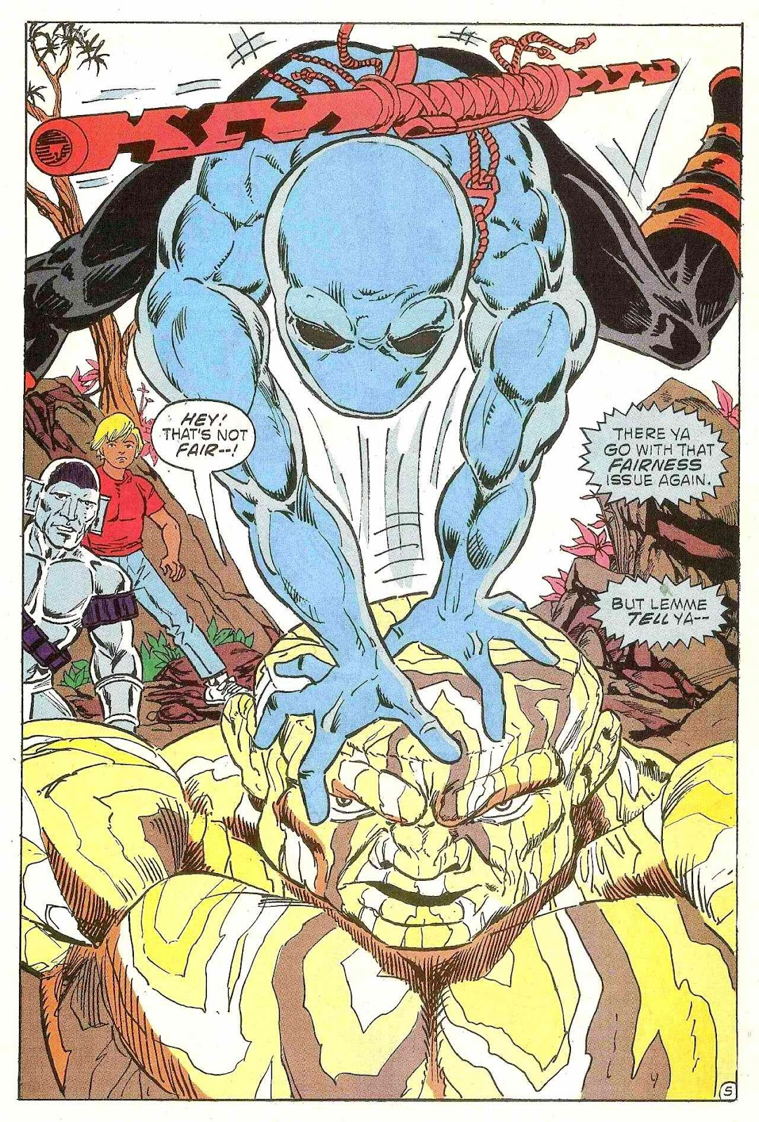 Read online Zen Intergalactic Ninja (1992) comic -  Issue #1 - 6