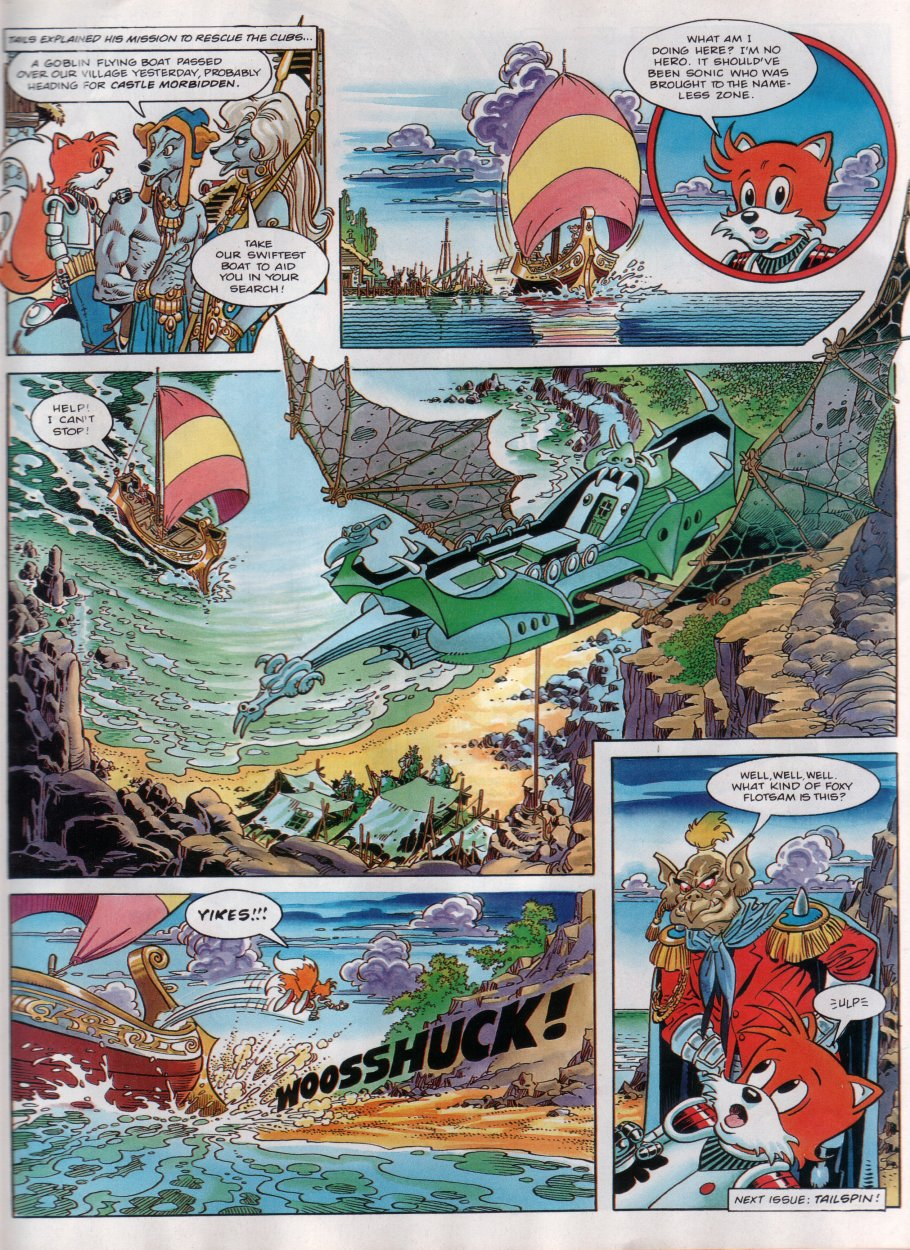 Read online Sonic the Comic comic -  Issue #29 - 22