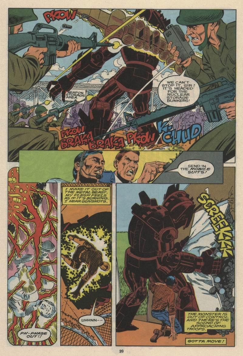 Read online Alpha Flight (1983) comic -  Issue #63 - 22