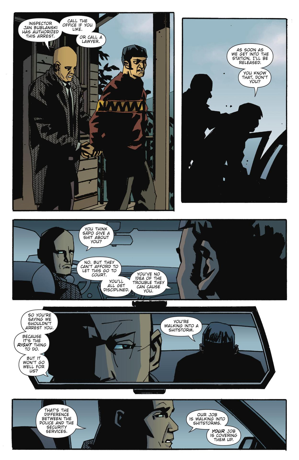 Read online The Girl Who Kicked The Hornet's Nest comic -  Issue # TPB - 25