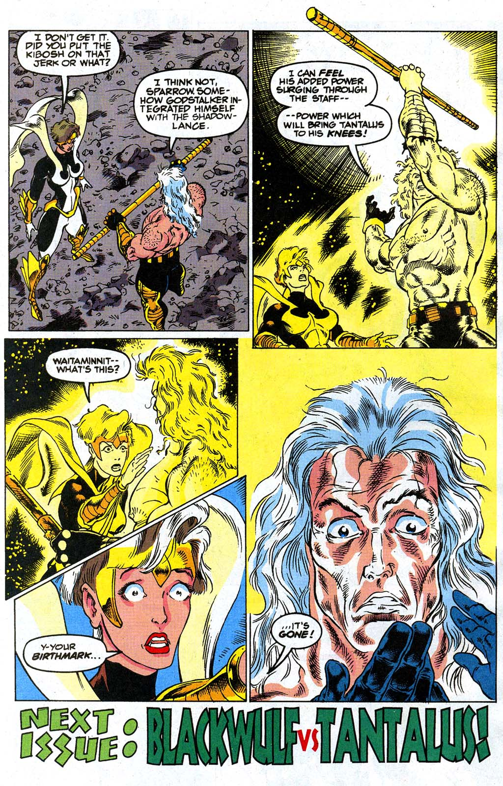 Read online Blackwulf comic -  Issue #9 - 22