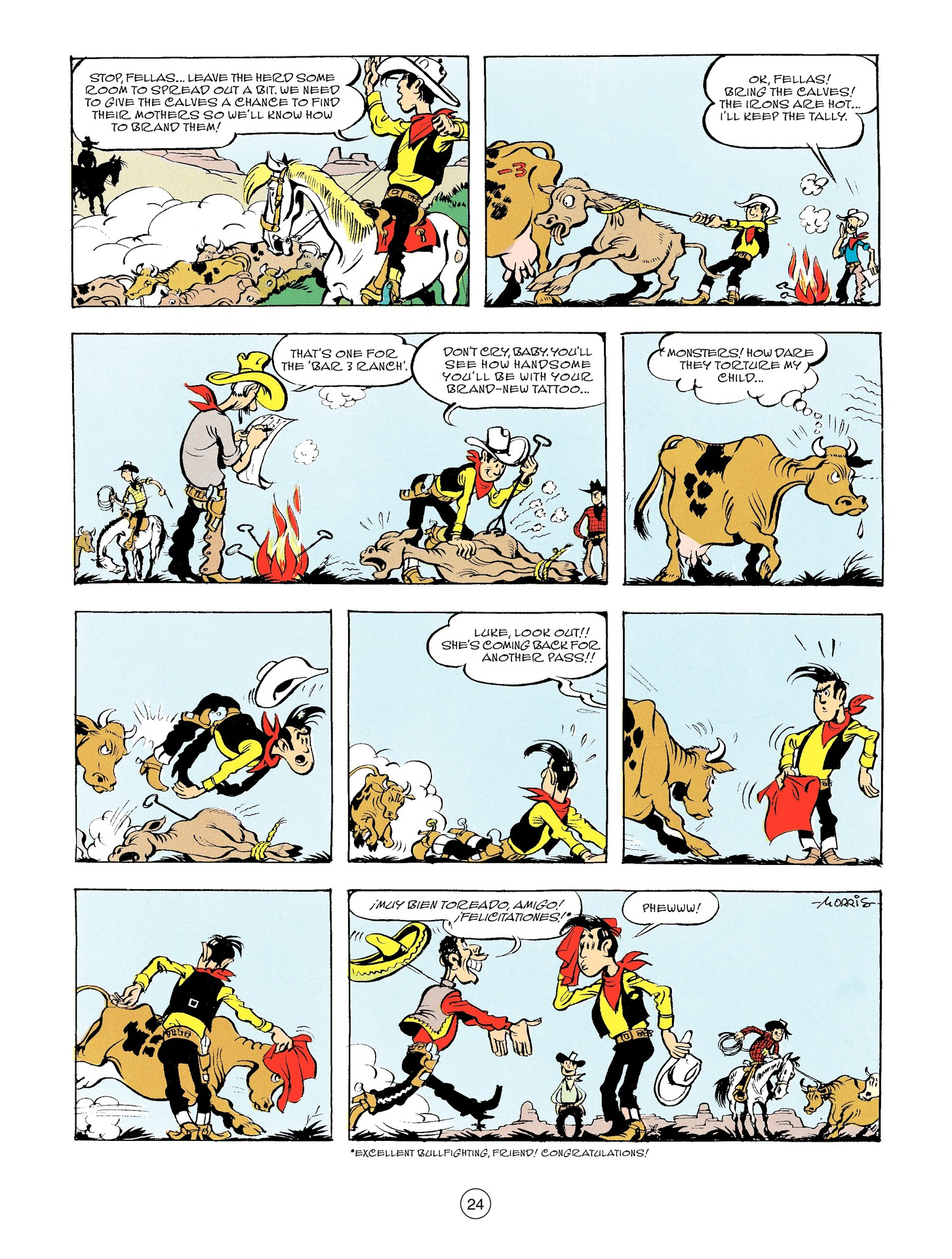 Read online A Lucky Luke Adventure comic -  Issue #56 - 24