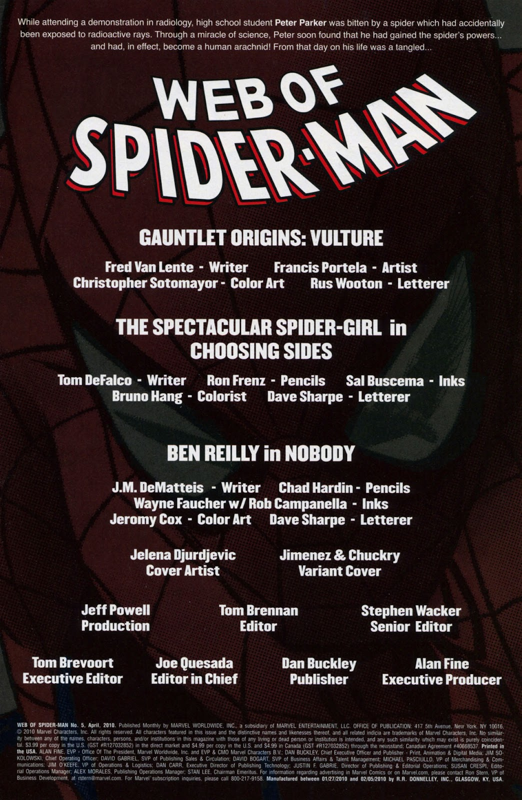 Web of Spider-Man (2009) Issue #5 #5 - English 2