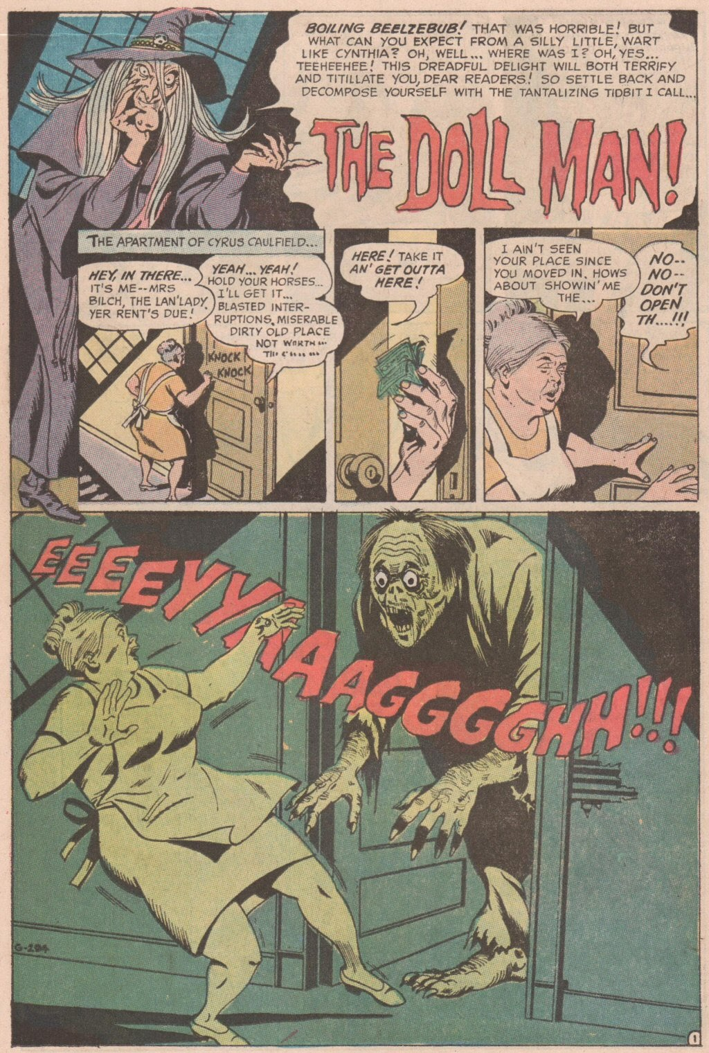 The Witching Hour (1969) issue 6 - Page 11