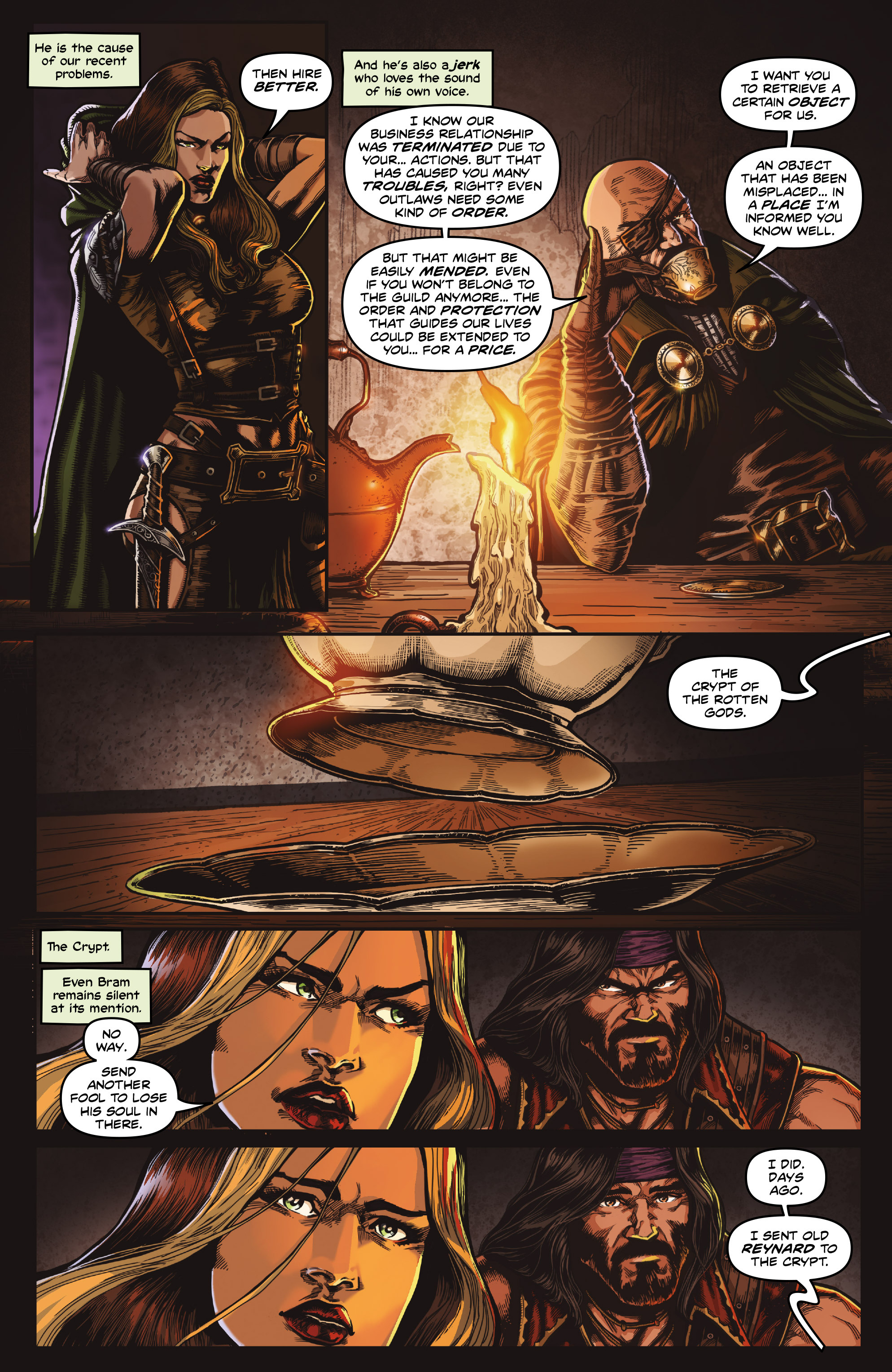 Read online Rogues!: The Burning Heart comic -  Issue #4 - 6
