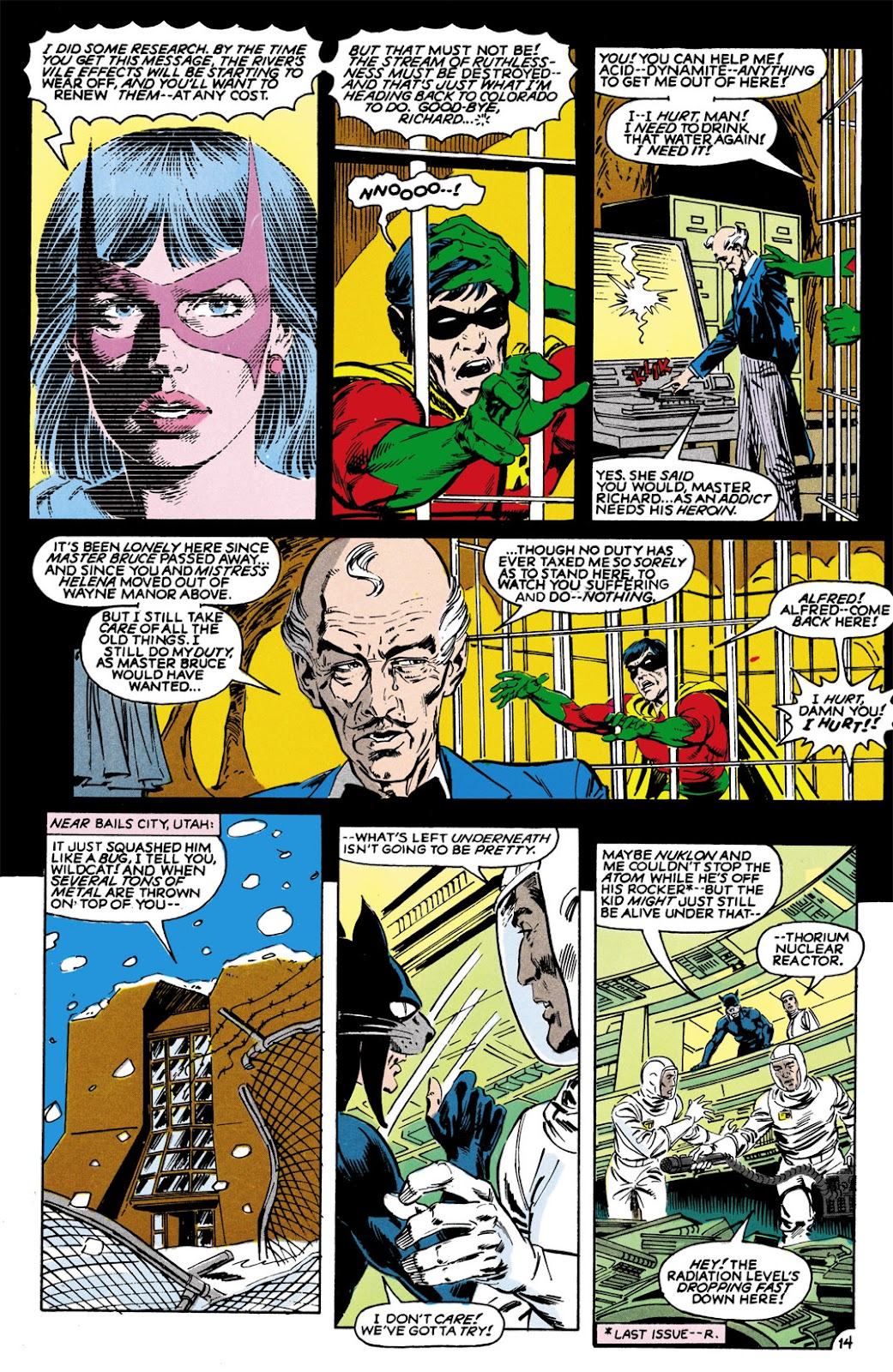 Infinity Inc. (1984) issue 9 - Page 14