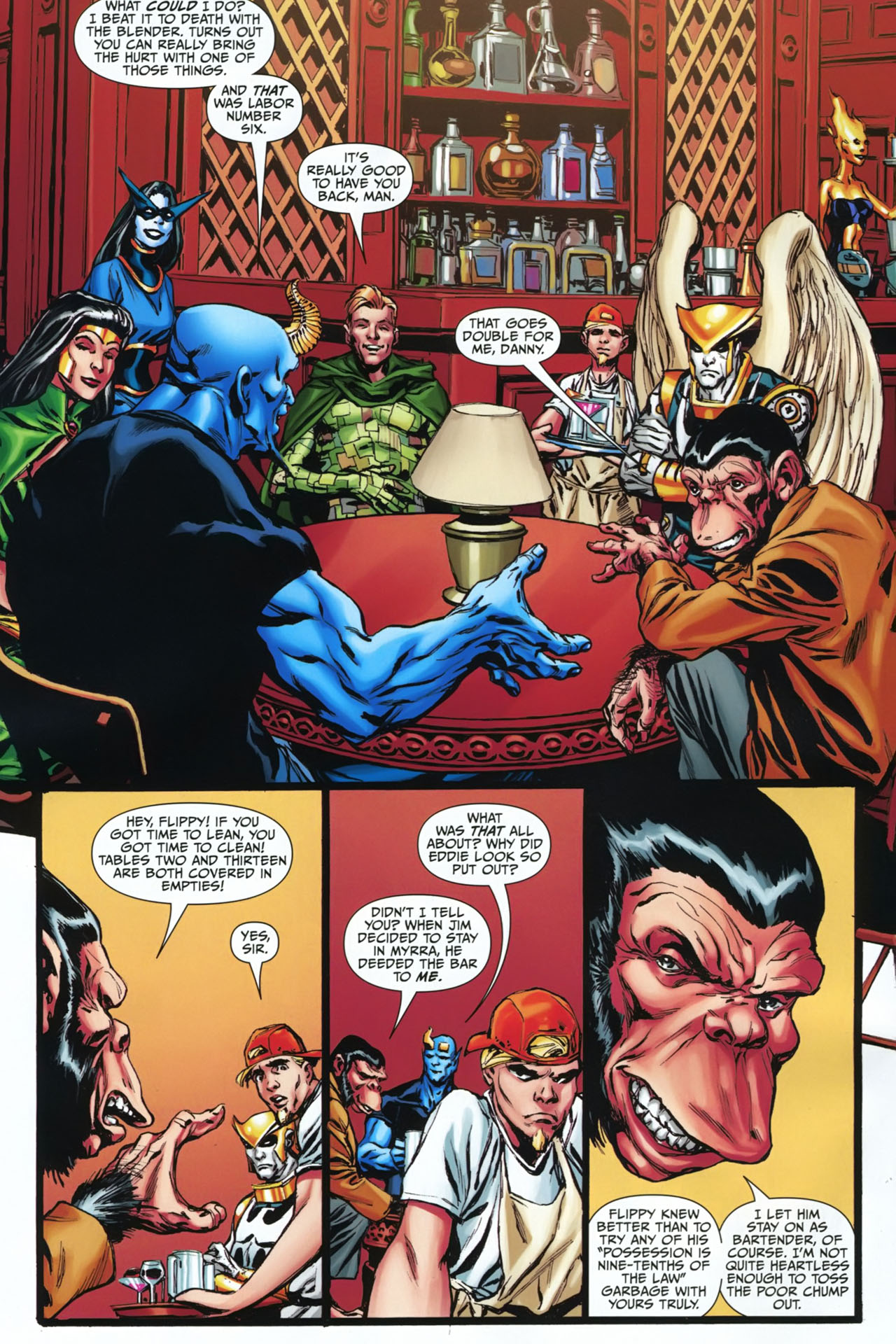 Read online Shadowpact comic -  Issue #23 - 10